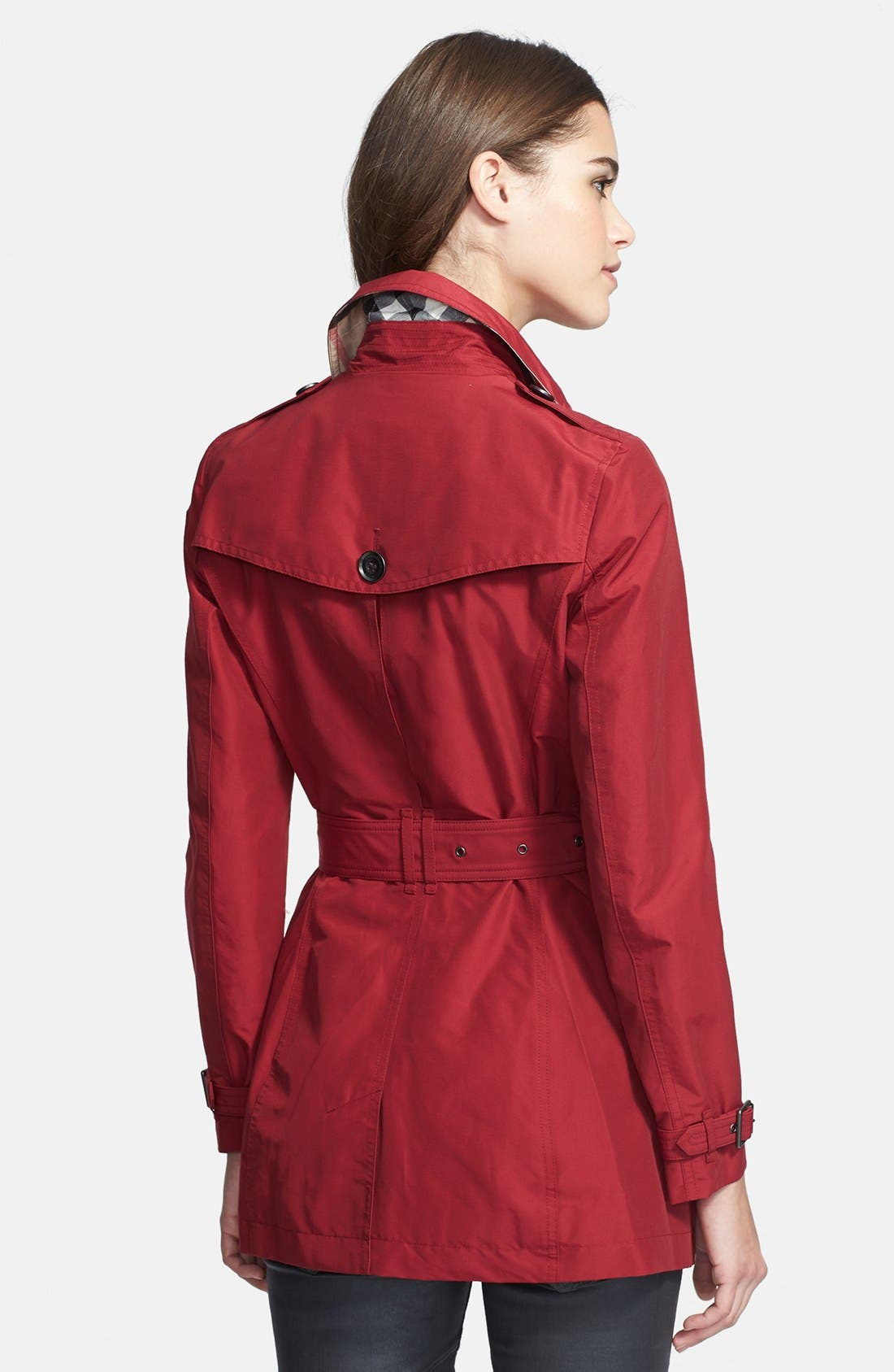 Alternate Image 2  - Burberry Brit 'Brookesby' Double Breasted Trench Coat