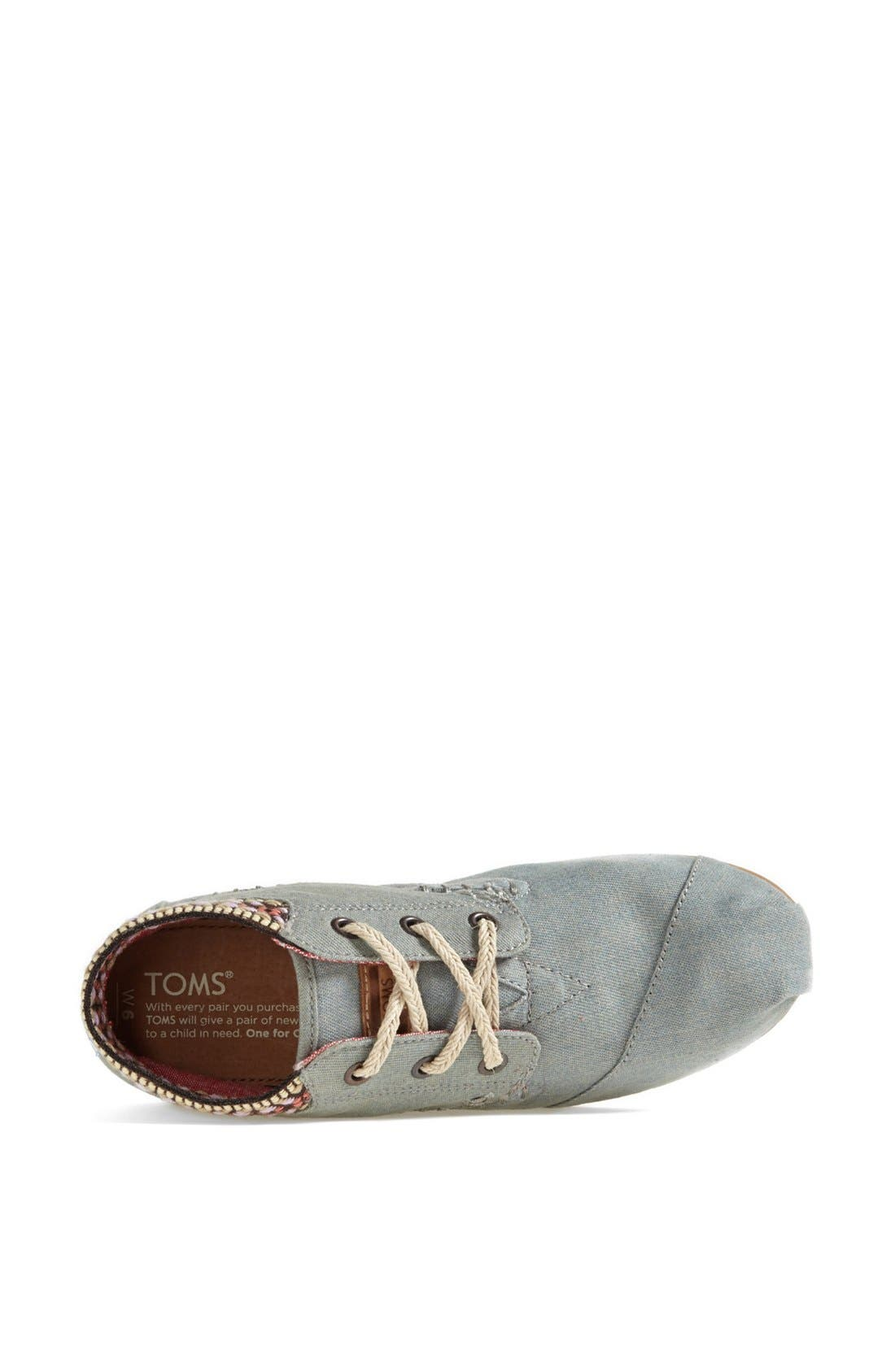 Alternate Image 3  - TOMS 'Desert' Burlap & Cotton Boot (Women)