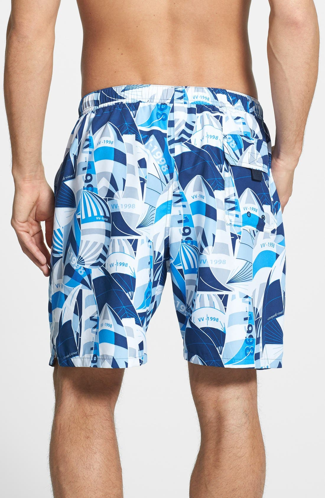 Alternate Image 2  - Vineyard Vines 'Sail Sheets Chappy' Swim Trunks