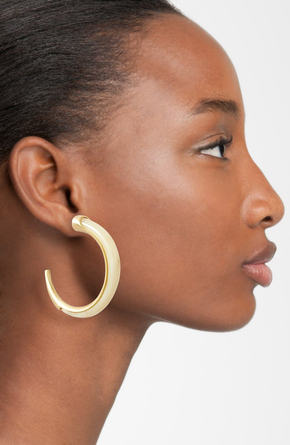 Alternate Image 2  - Vince Camuto 'Thorns & Horns' Hoop Earrings