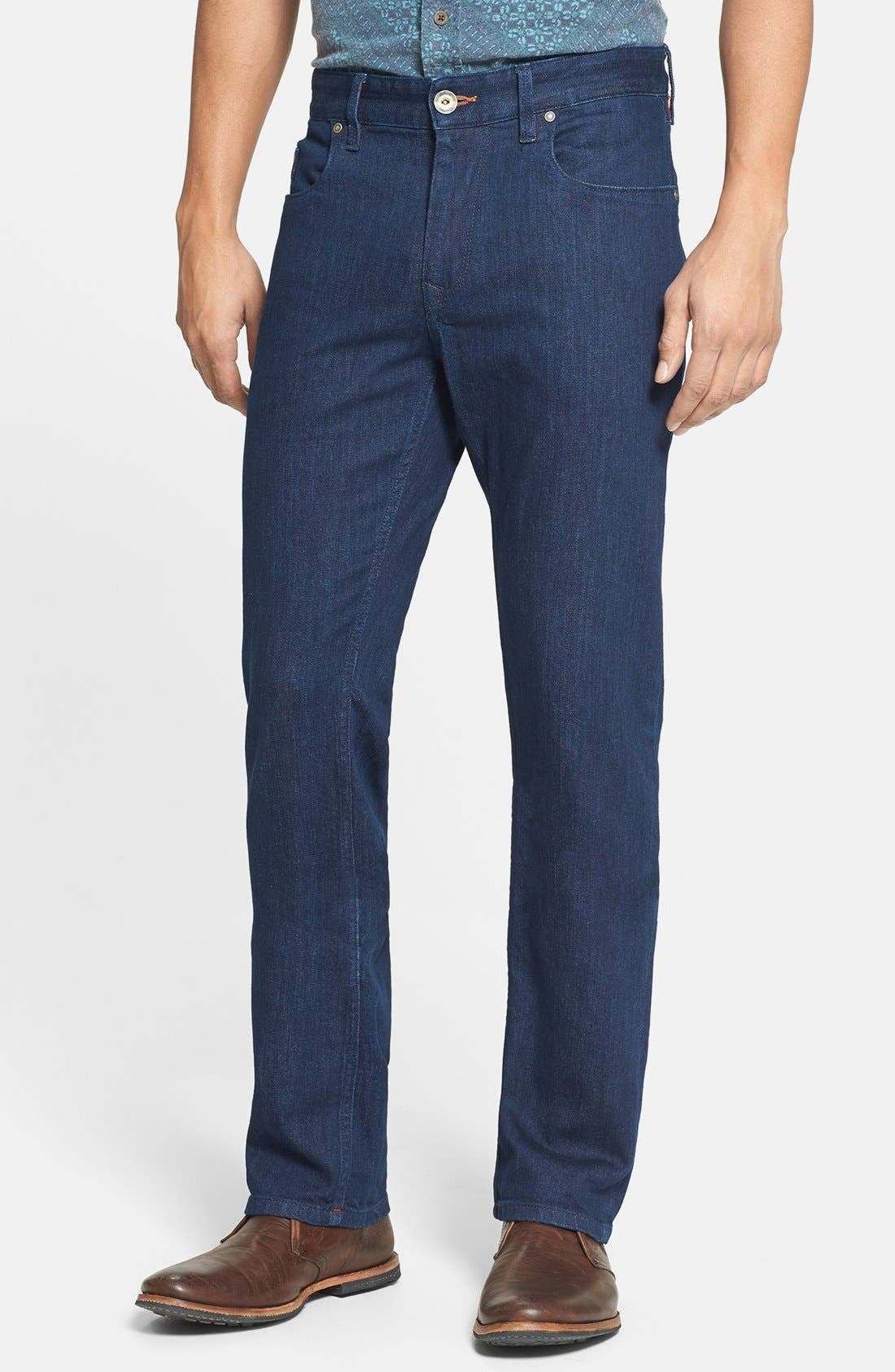 Main Image - Robert Graham 'Mad Hatter' Classic Fit Straight Leg Jeans