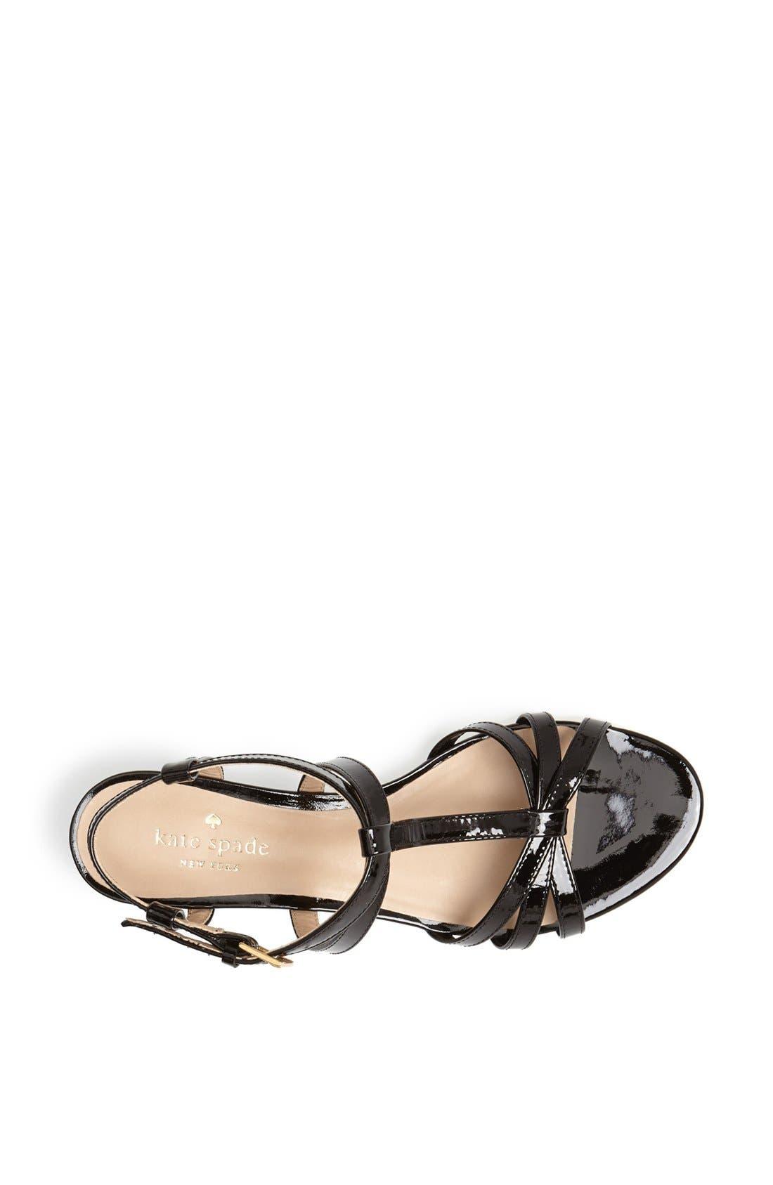 Alternate Image 4  - kate spade new york 'vetta' wedge sandal