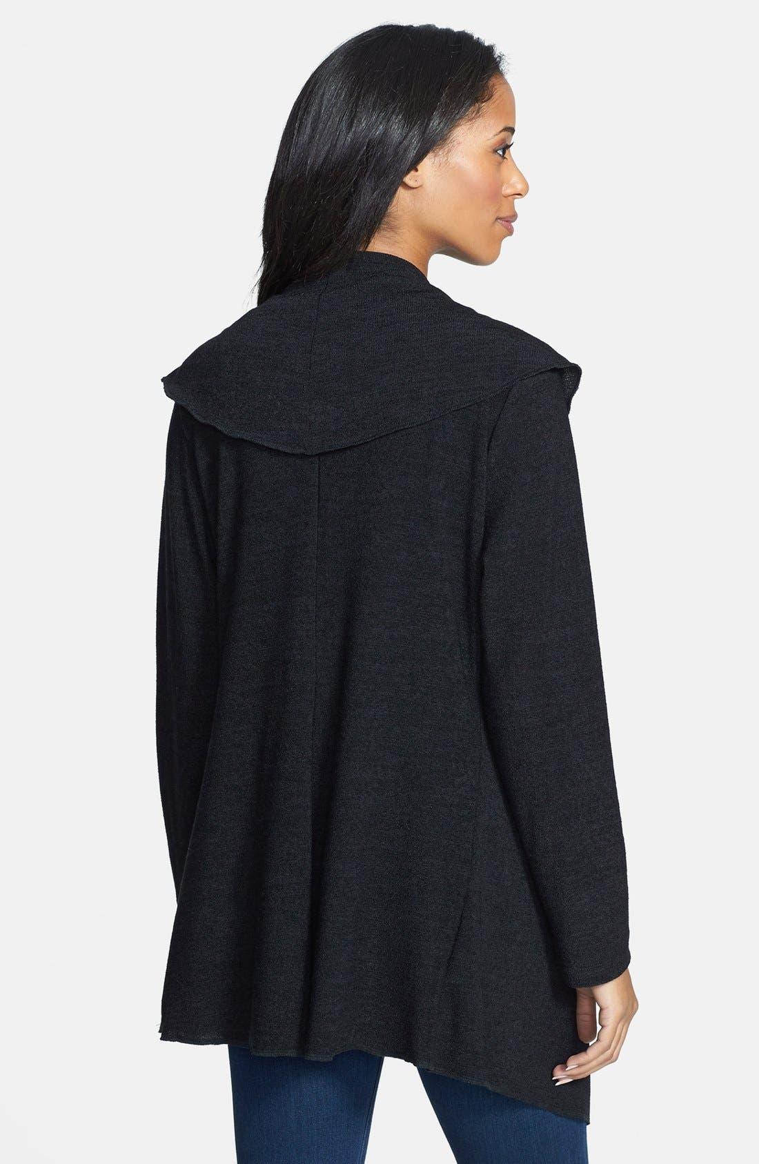 Alternate Image 2  - Japanese Weekend Wrap Maternity Sweater