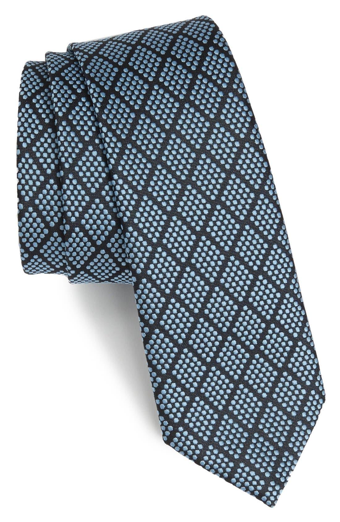 Alternate Image 1 Selected - Z Zegna Woven Silk Blend Tie