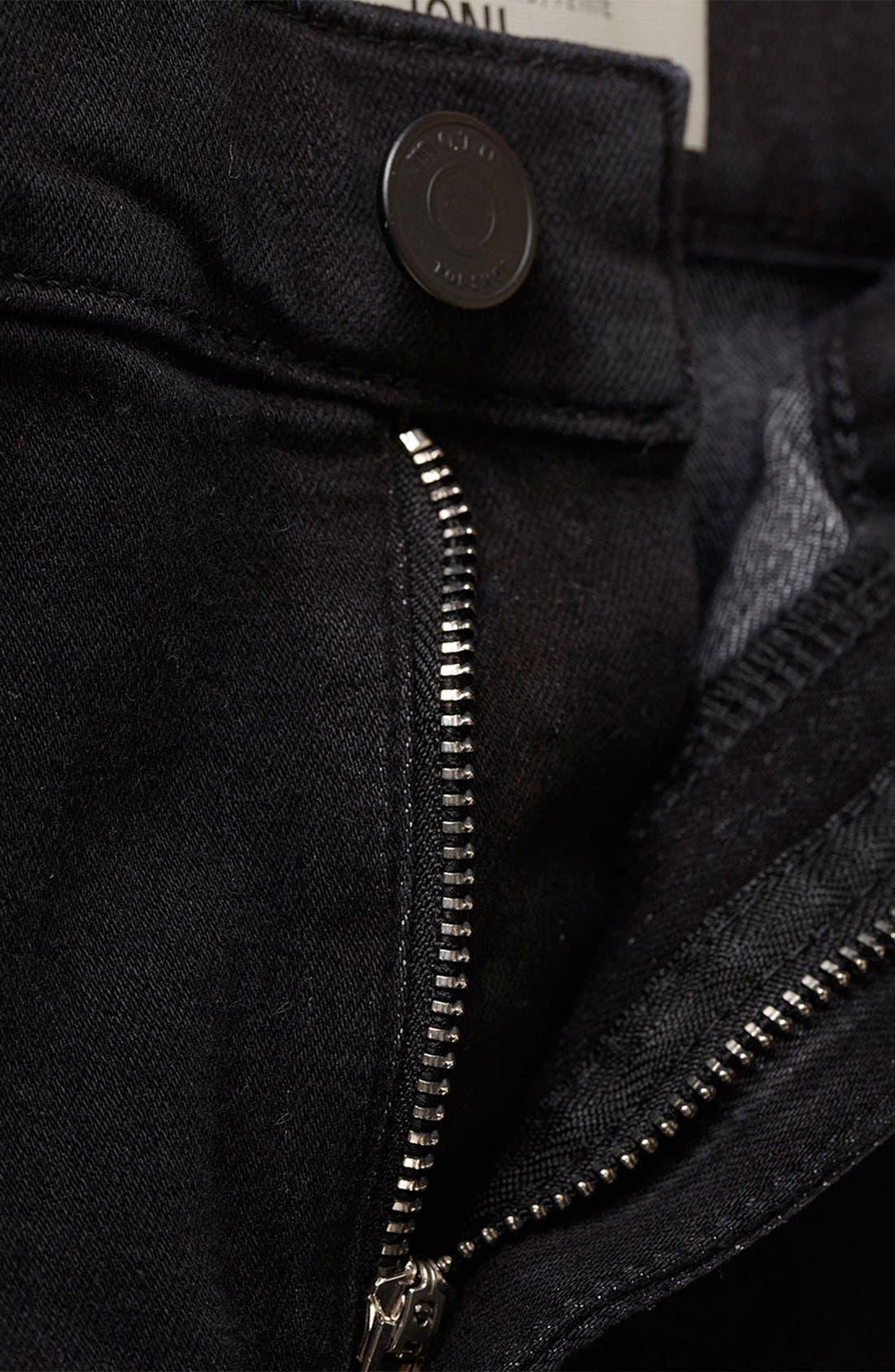 Alternate Image 4  - Topshop Moto 'Joni' High Rise Skinny Jeans (Petite)