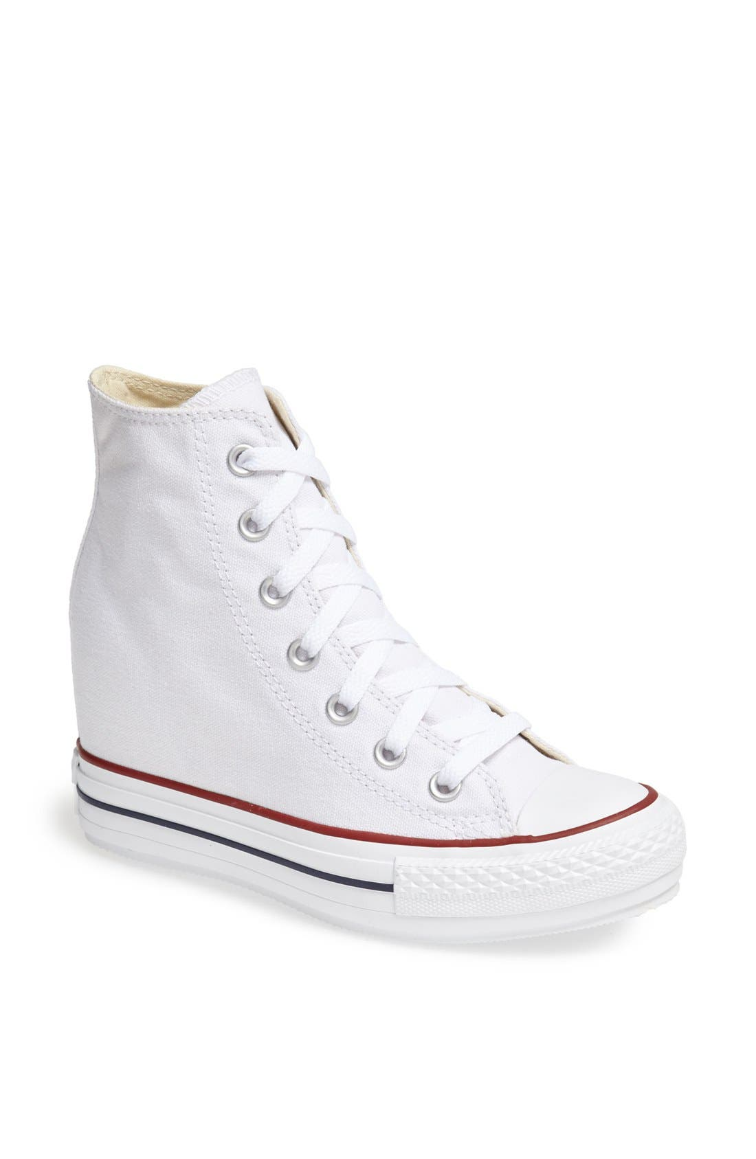 Main Image - Converse Chuck Taylor® All Star® Hidden Wedge Platform High-Top Sneaker