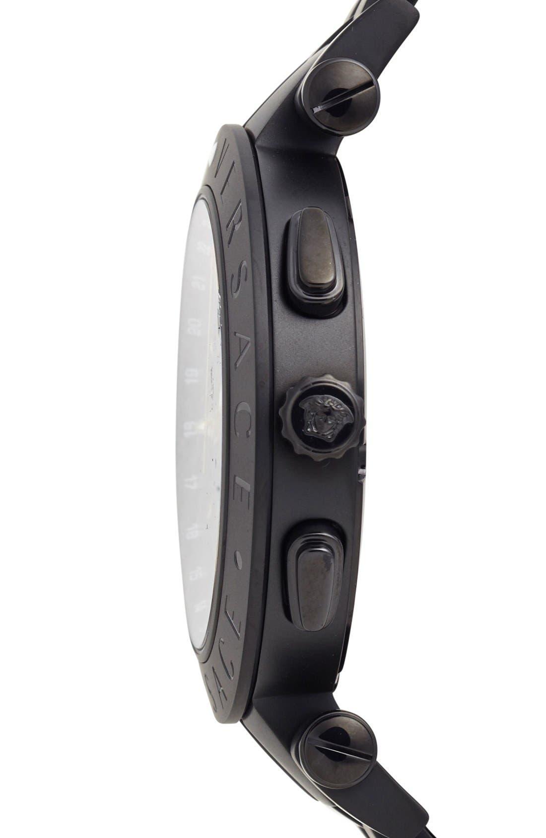 Alternate Image 3  - Versace 'V-Race GMT' Bracelet Watch, 46mm