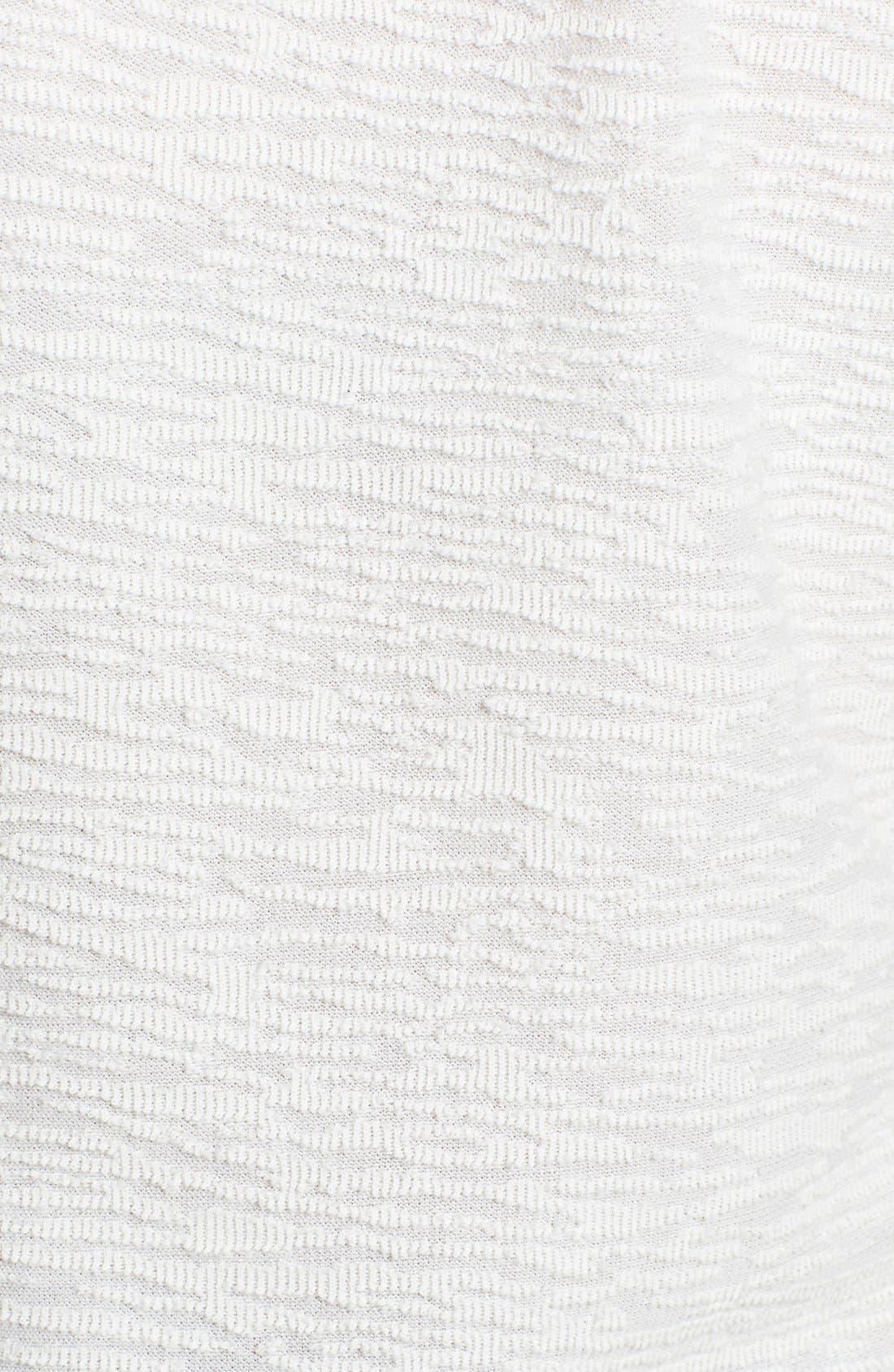 Alternate Image 3  - Pure Sugar Illusion Sleeve Textured Top