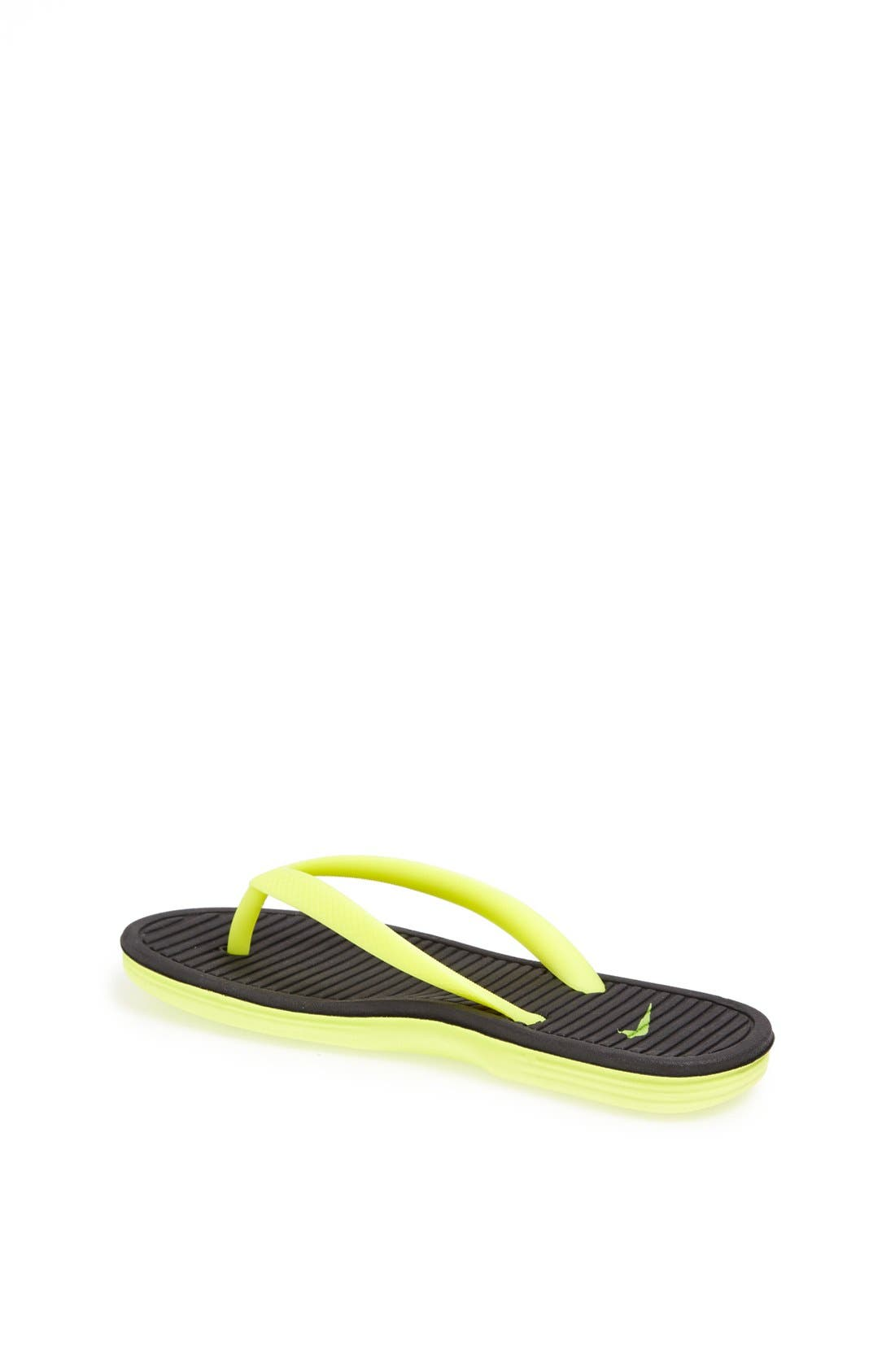 Alternate Image 2  - Nike Solarsoft Thong Sandal (Toddler, Little Kid & Big Kid)