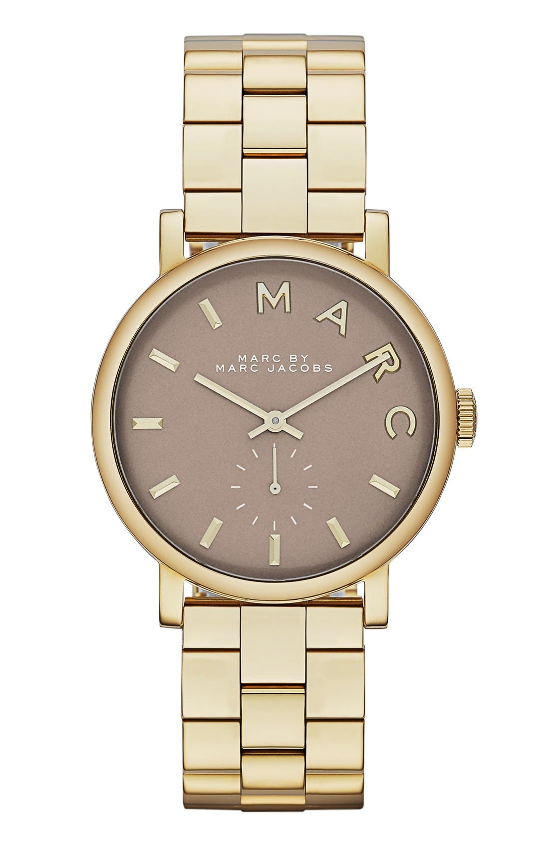 Main Image - MARC JACOBS 'Baker' Bracelet Watch, 37mm