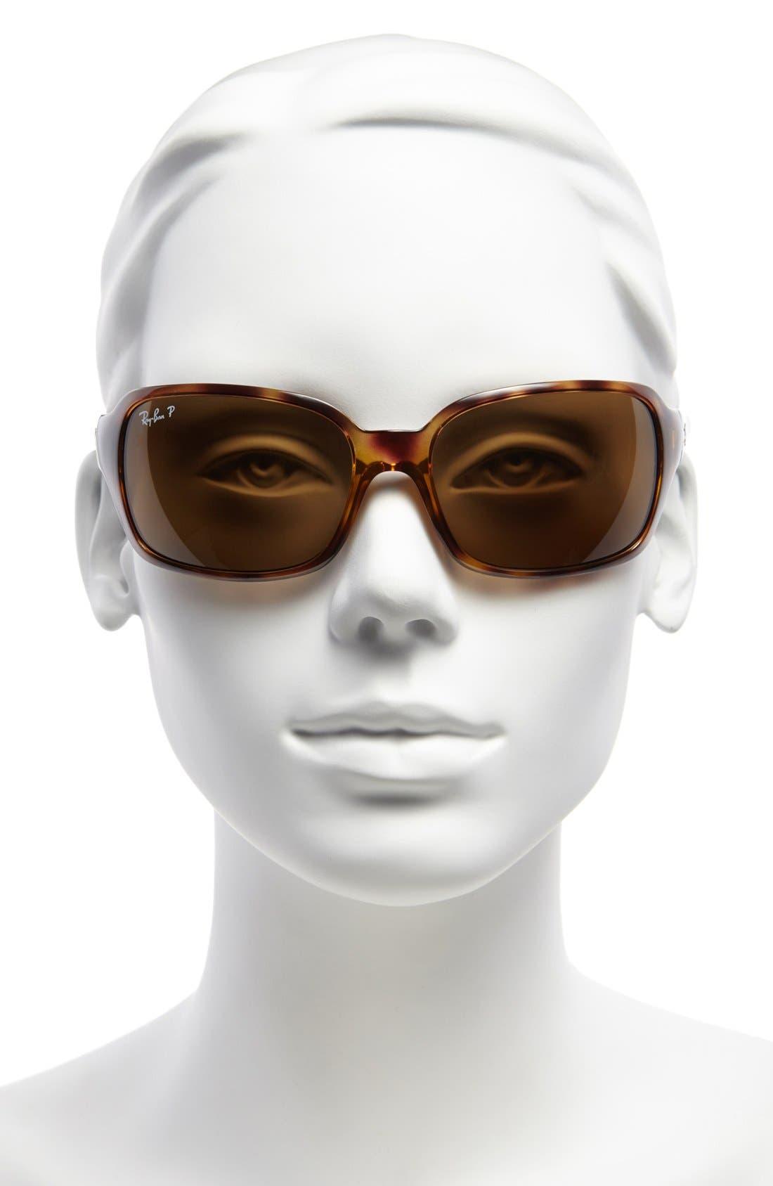 Alternate Image 2  - Ray-Ban 'Big Glamour' 60mm Polarized Sunglasses