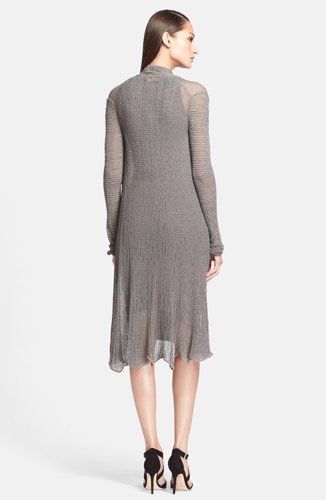 Alternate Image 2  - Donna Karan Collection Long Jersey Cardigan