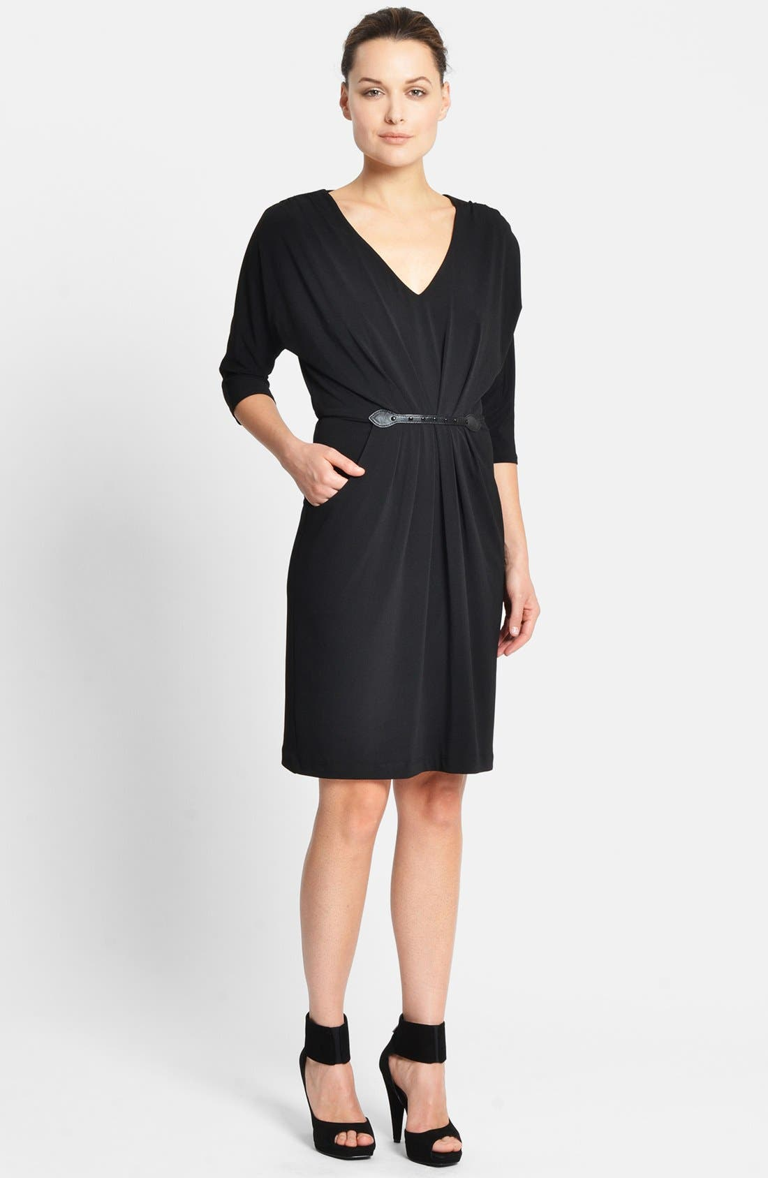 Alternate Image 1 Selected - Catherine Catherine Malandrino Dolman Sleeve Dress