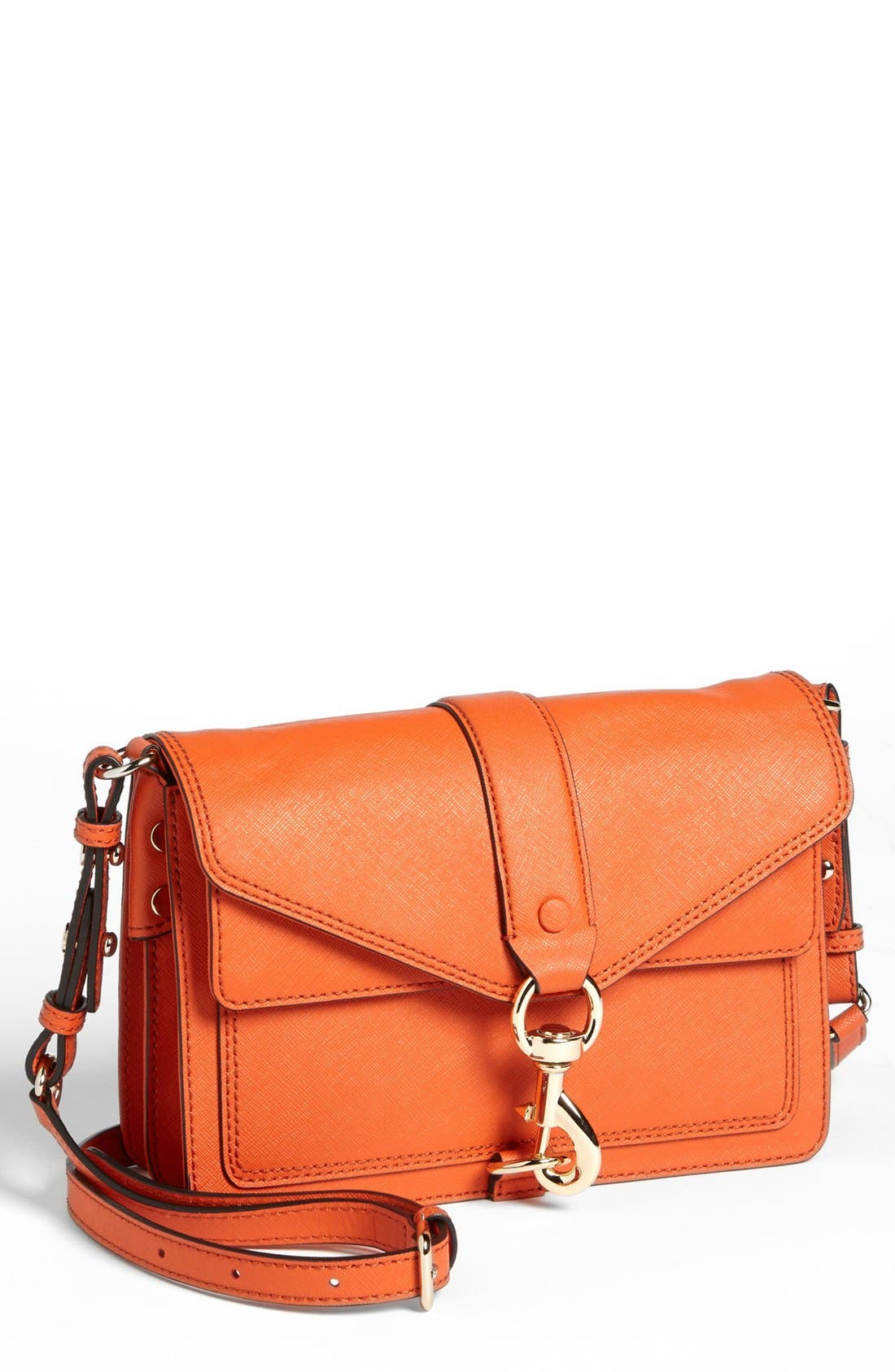 Main Image - Rebecca Minkoff 'Hudson Moto Mini' Crossbody Bag