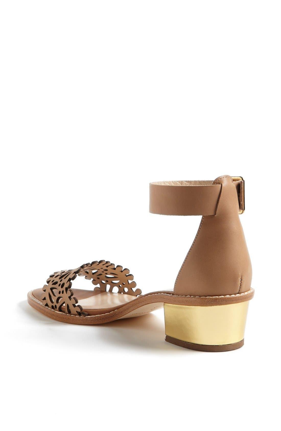 Alternate Image 2  - Loeffler Randall 'Hopie' Ankle Strap Sandal (Online Only)