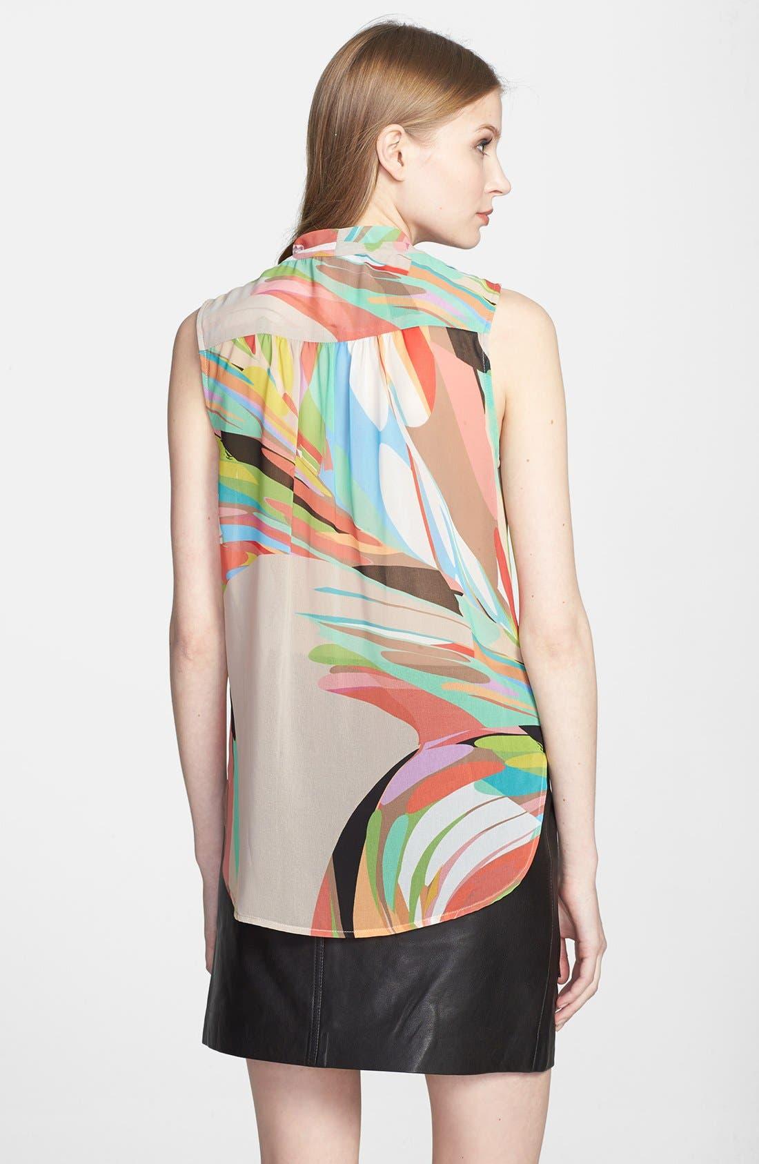 Alternate Image 2  - Trina Turk 'Muriel' Print Drape Top