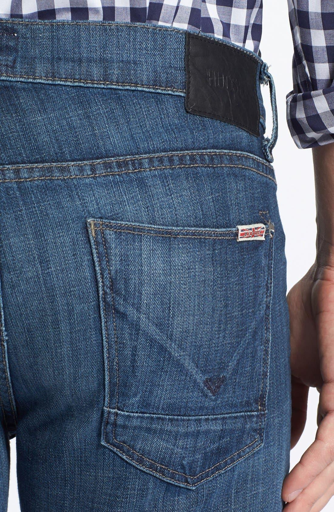 Alternate Image 4  - Hudson Jeans 'Byron' Slim Straight Leg Jeans (Harris)