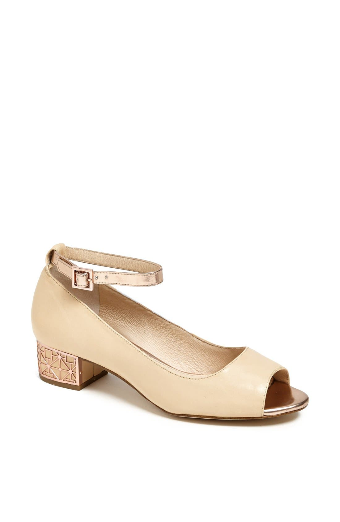 Alternate Image 1 Selected - Louise et Cie 'Jamaicah' Ankle Strap Pump