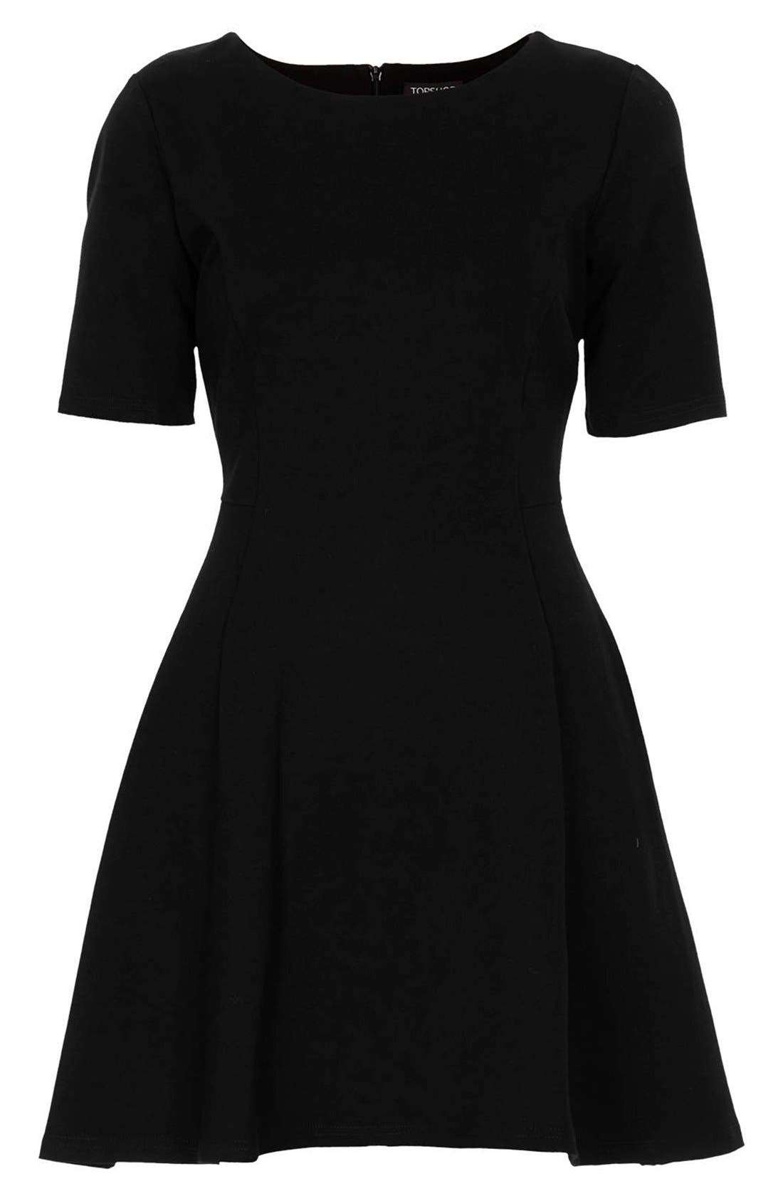 Alternate Image 3  - Topshop Jersey Skater Dress