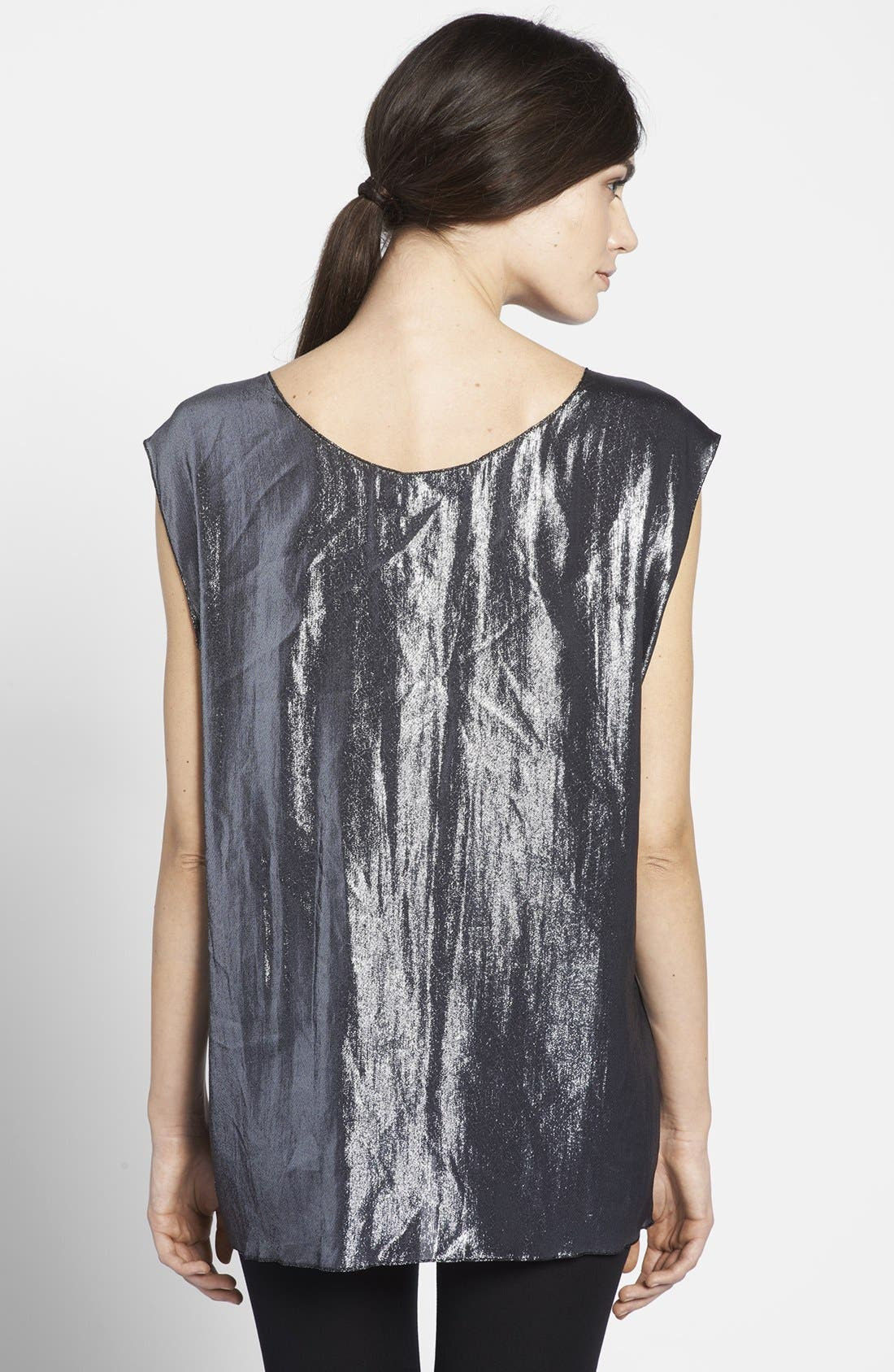 Alternate Image 2  - Lanvin 'I Am Addicted to Gloss' Lamé Top