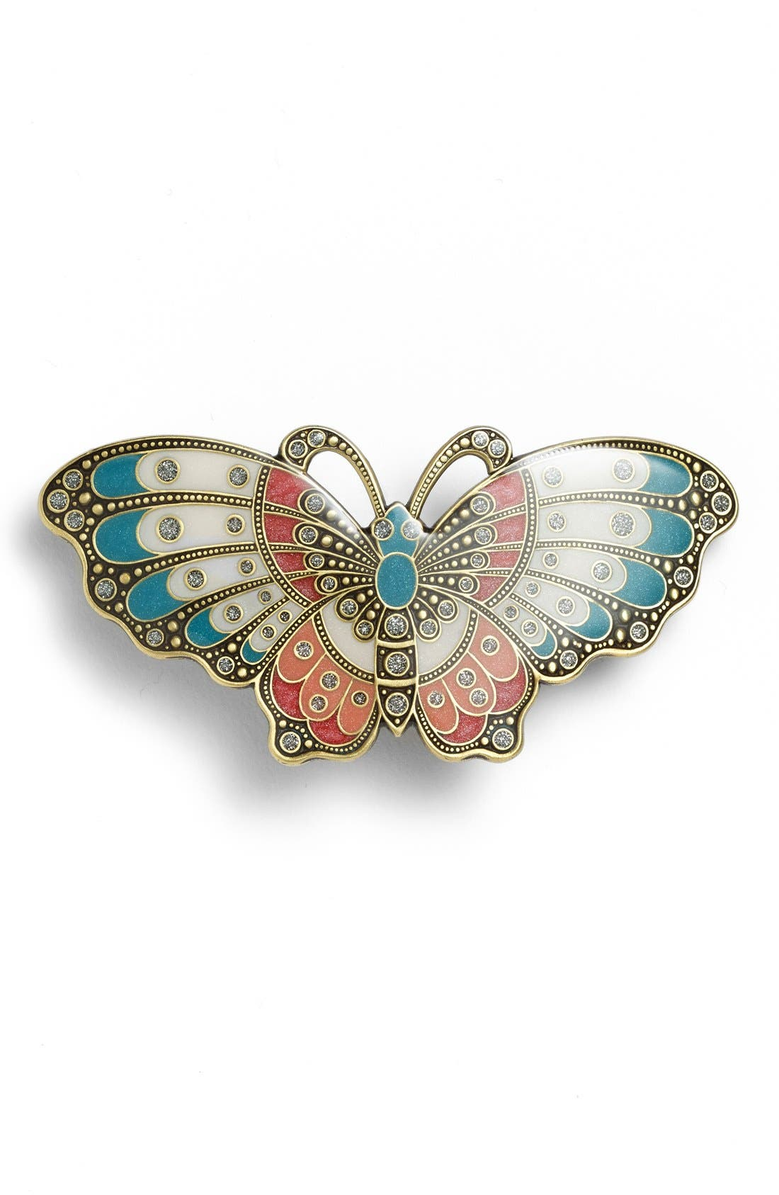 Alternate Image 1 Selected - L. Erickson Artisan Butterfly Barrette