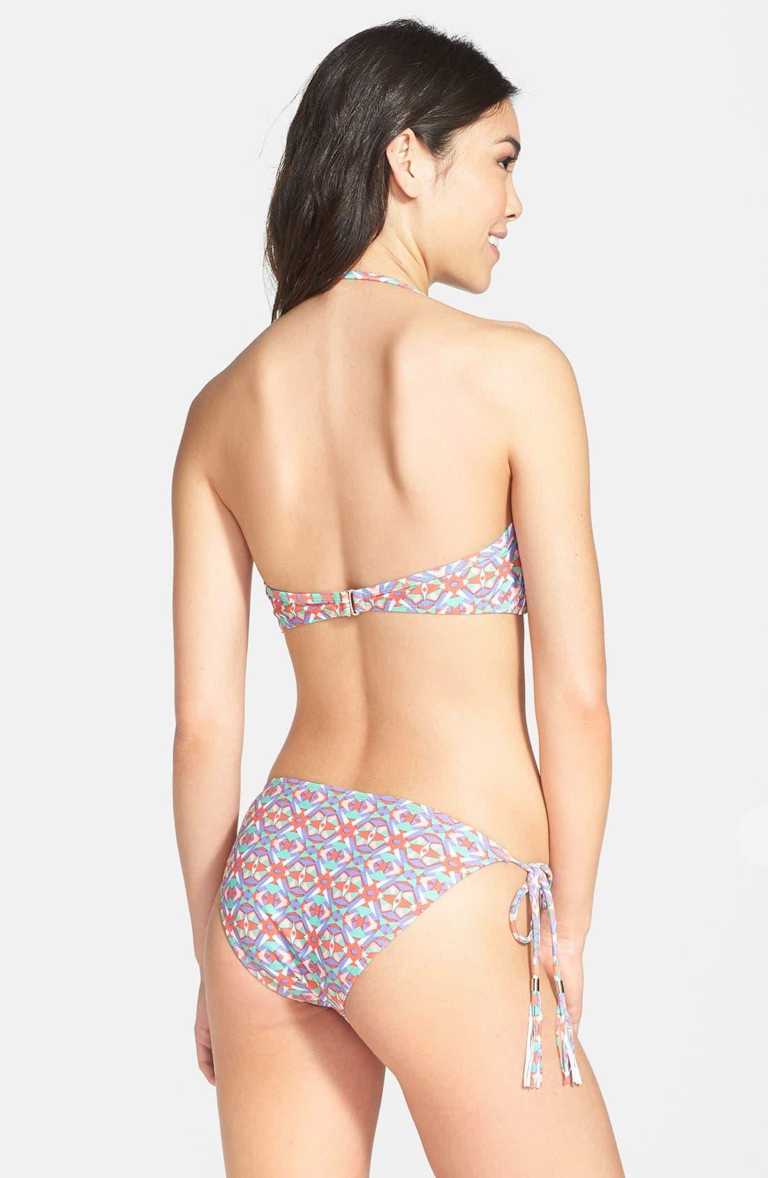 Alternate Image 4  - BP. Undercover Tassel String Bikini Bottoms (Juniors)