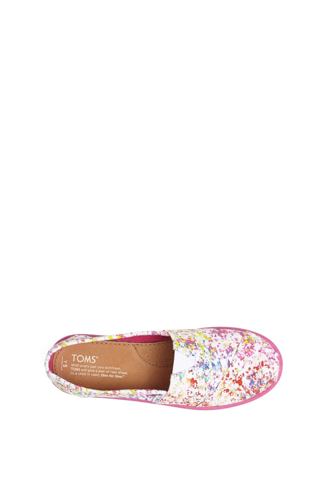 Alternate Image 3  - TOMS CLASSIC YOUTH SLIP ON