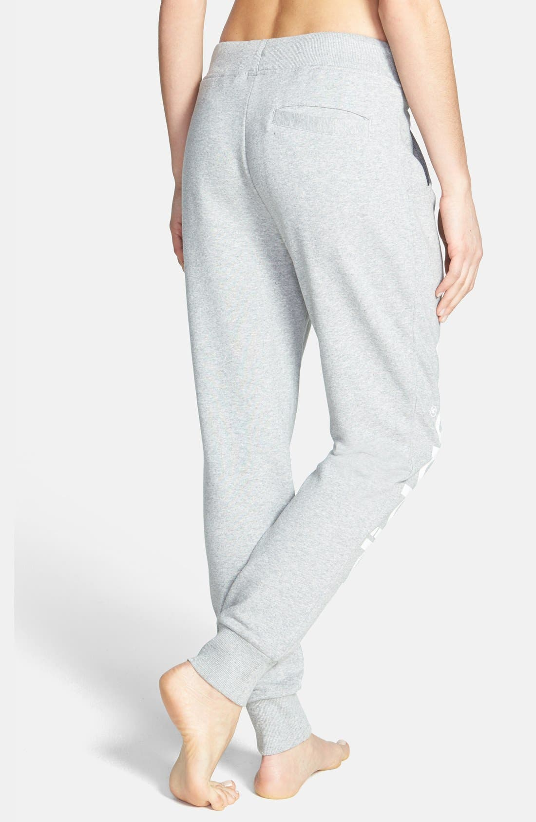 Alternate Image 2  - adidas Originals Baggy French Terry Track Pants