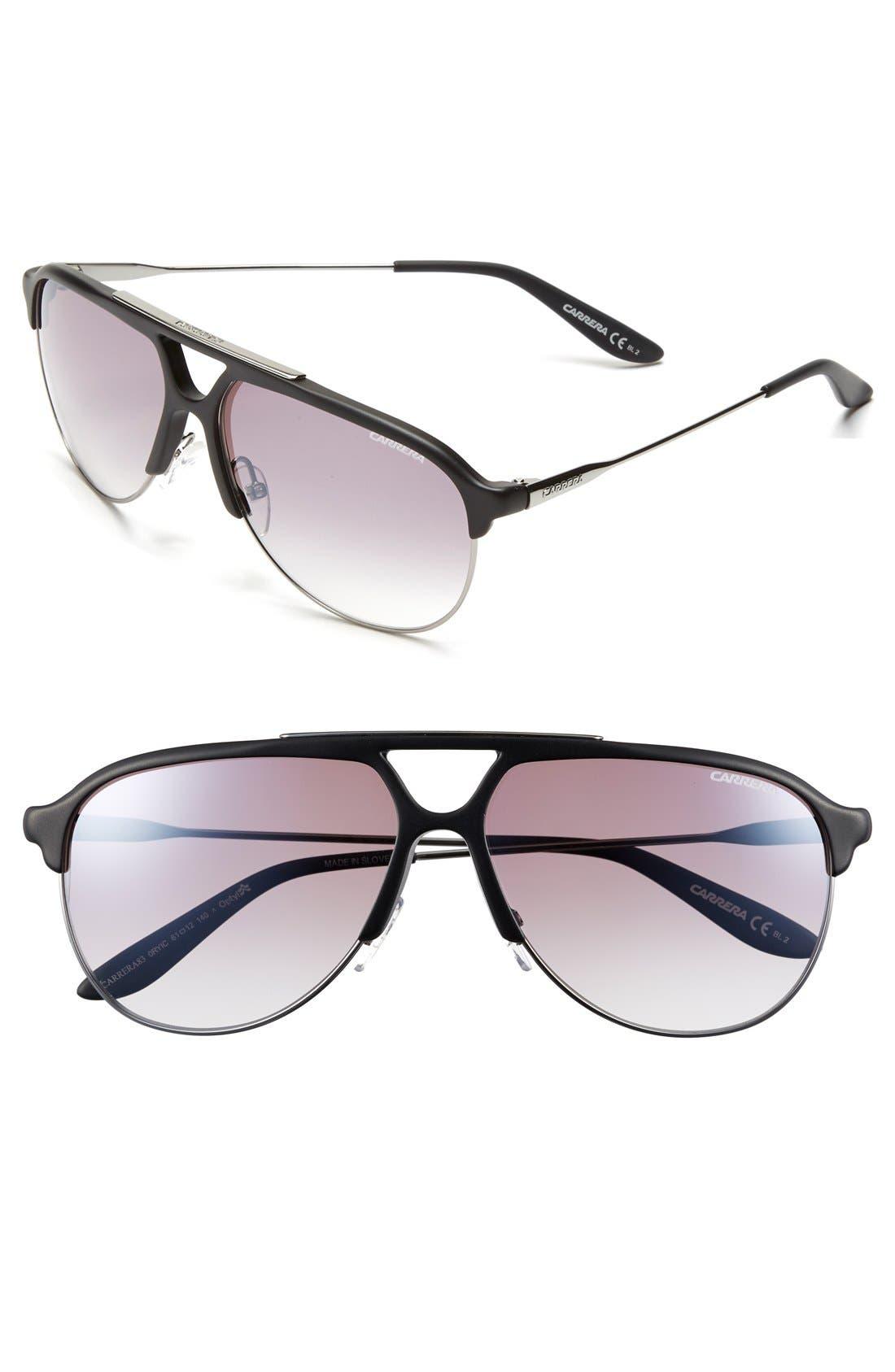 Alternate Image 1 Selected - Carrera Eyewear 61mm Optyl™ Sunglasses