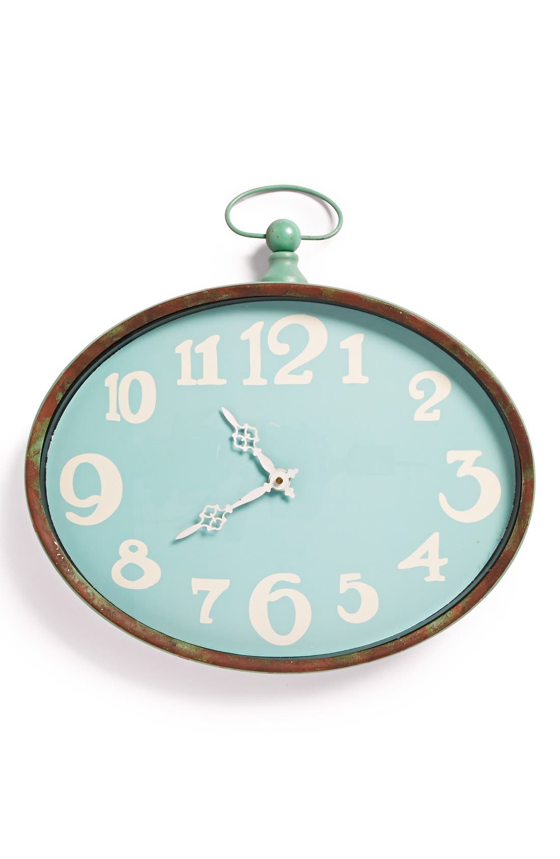Main Image - Foreside Oval Wall Clock