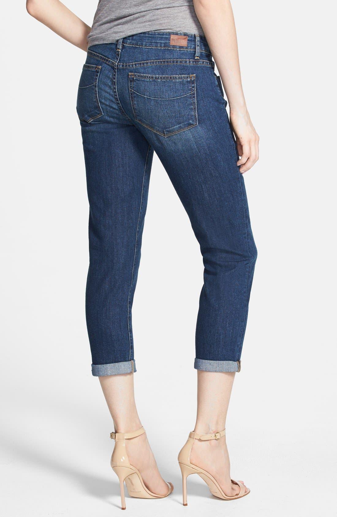 Alternate Image 2  - Paige Denim 'Jimmy Jimmy' Crop Skinny Jeans (Rebecca)