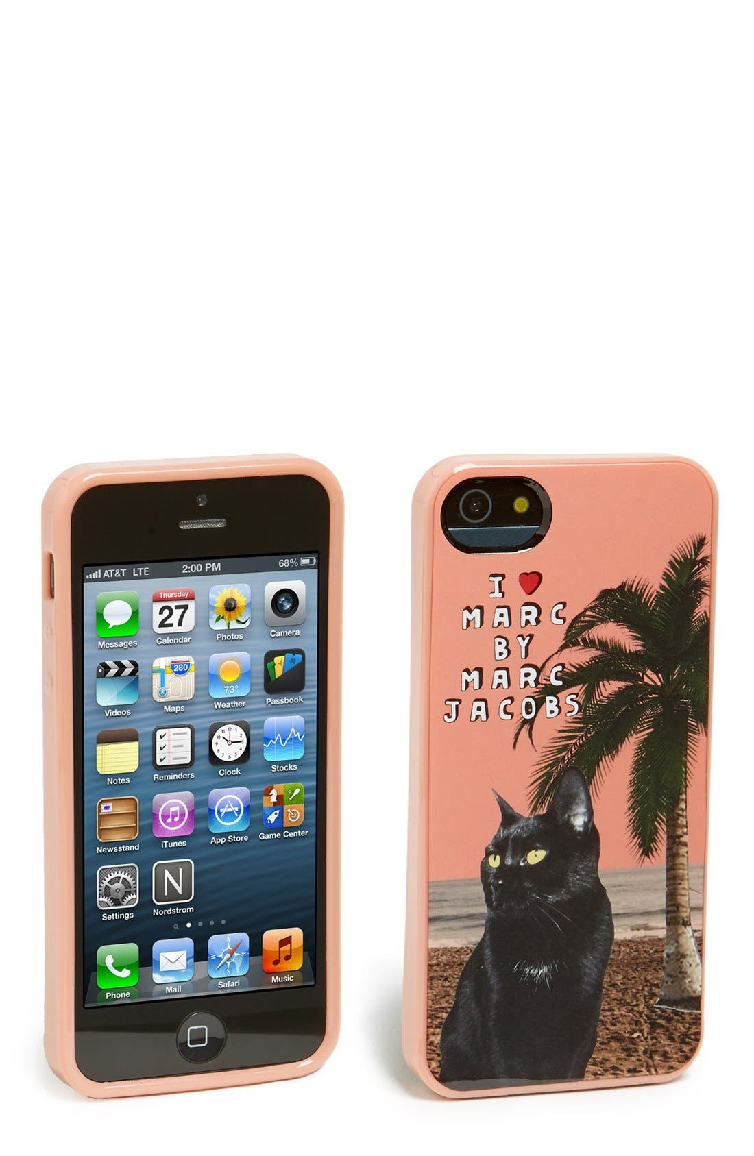 Alternate Image 1 Selected - MARC BY MARC JACOBS 'Jet Set Pets - Rue' iPhone 5 & 5s case