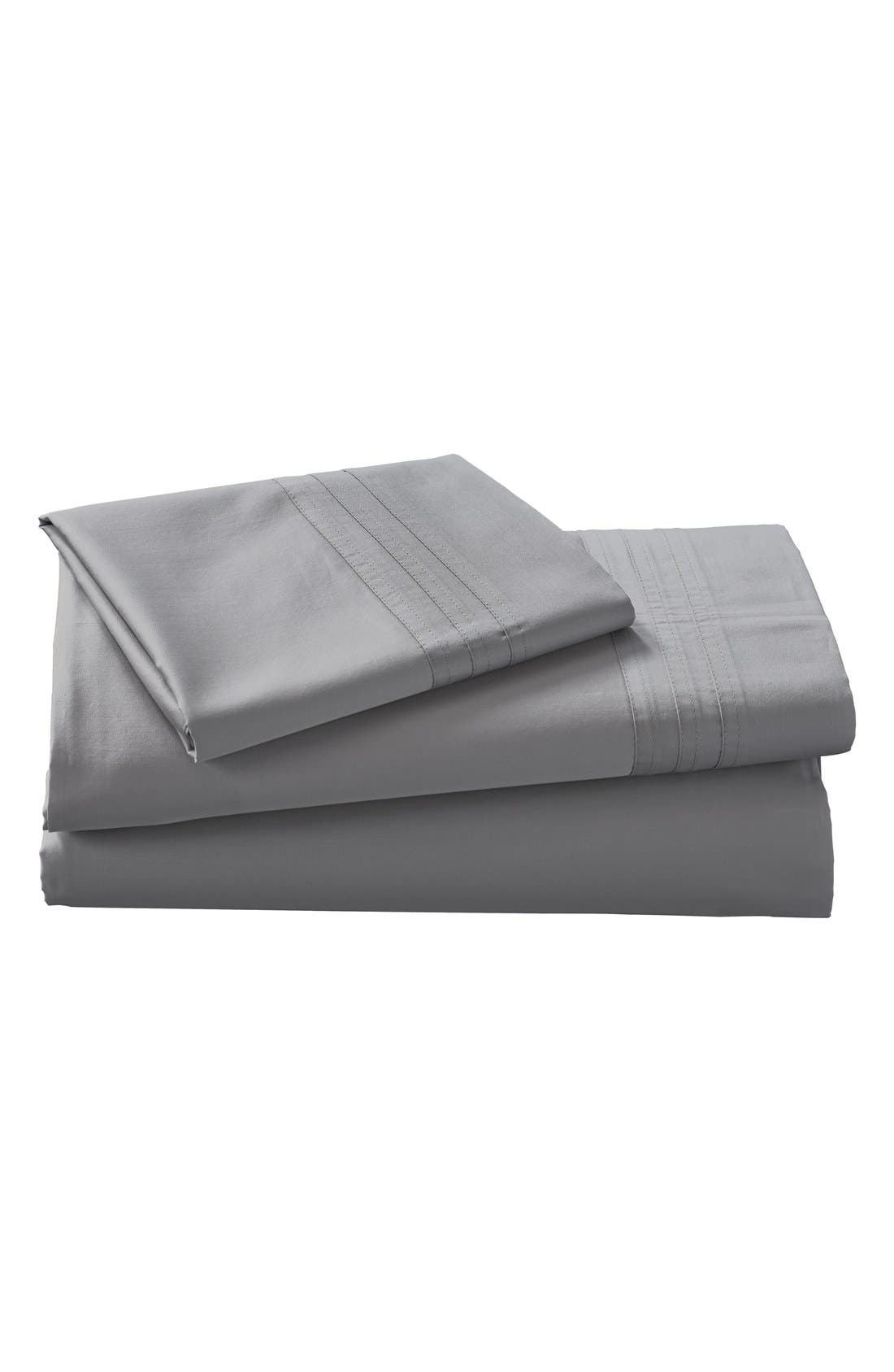 Main Image - Donna Karan Collection 510 Thread Count Fitted Sheet (Online Only)