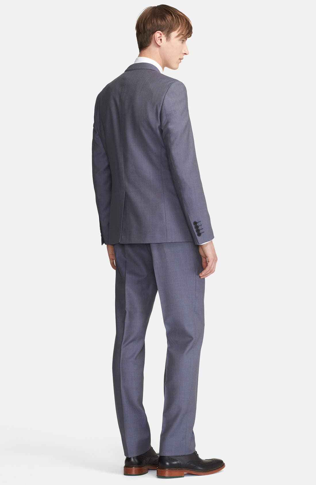 Alternate Image 2  - Paul Smith London 'Byard' Bird's Eye Wool Suit