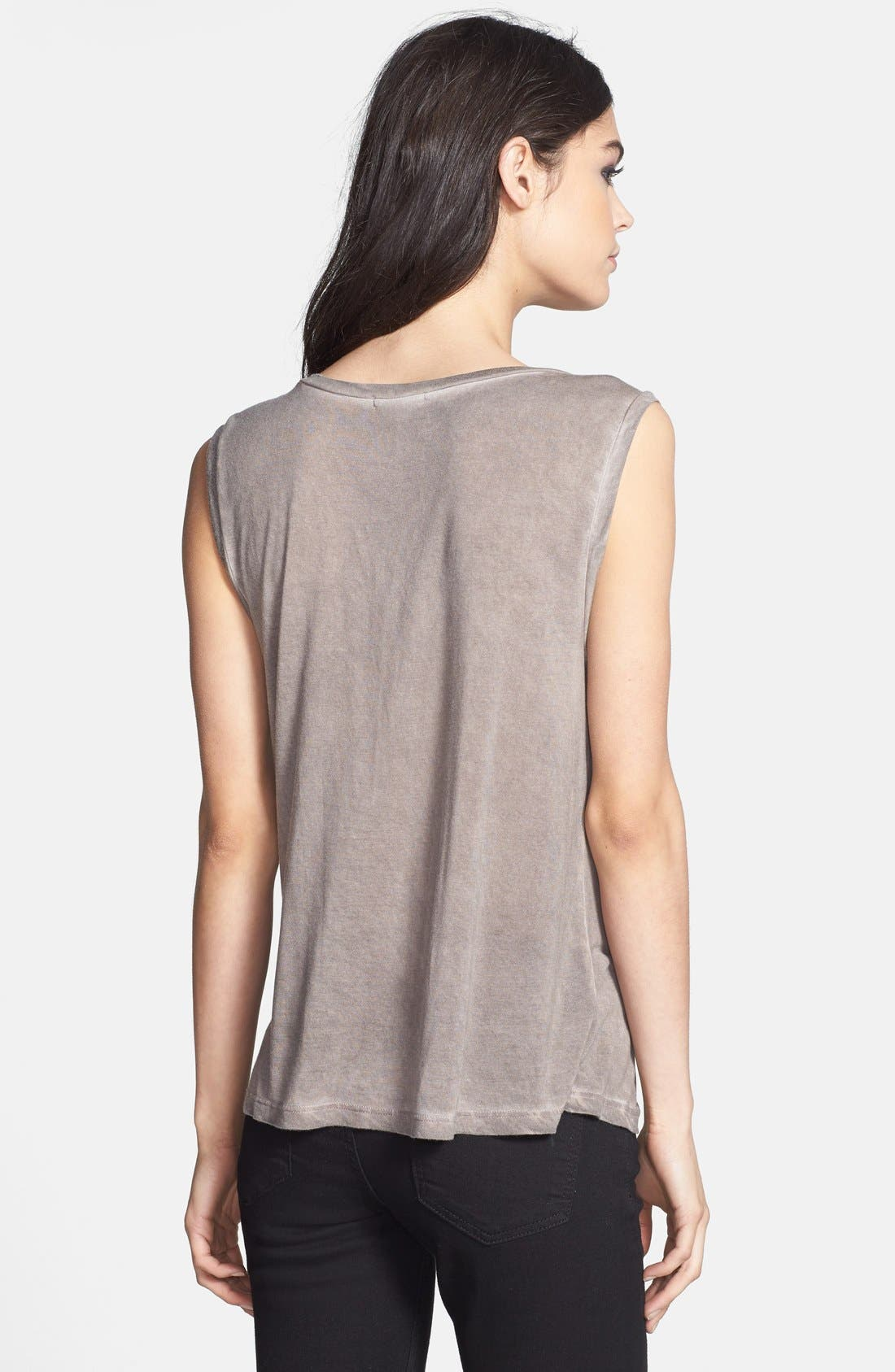 Alternate Image 2  - Leith Faded Muscle Tank