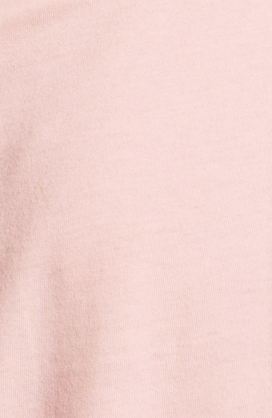 Alternate Image 4  - adidas Rose Trefoil Logo Knot Tee