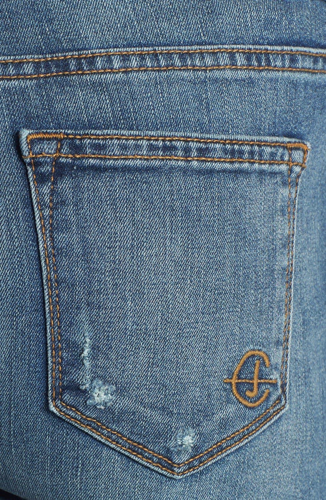 Alternate Image 3  - CJ by Cookie Johnson 'Glory' Slim Boyfriend Jeans (Hitsville)