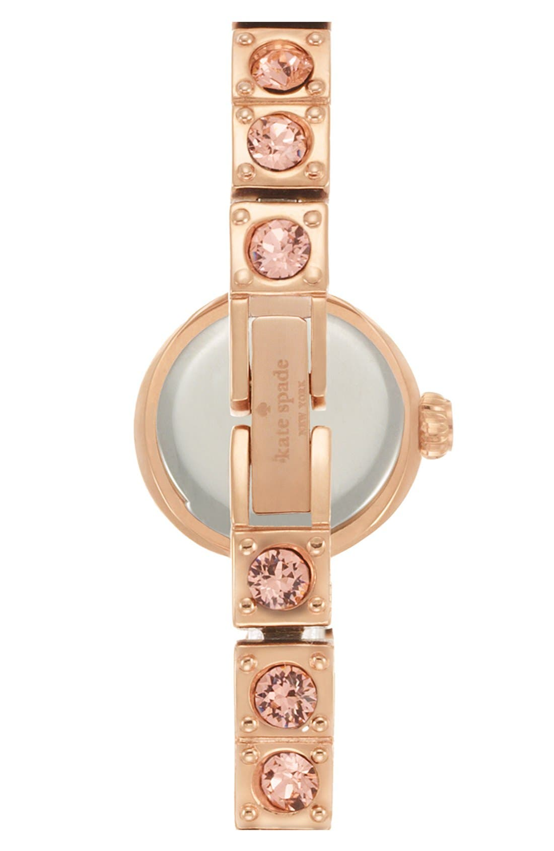Alternate Image 2  - kate spade new york 'pierre' pavé bracelet watch, 10mm