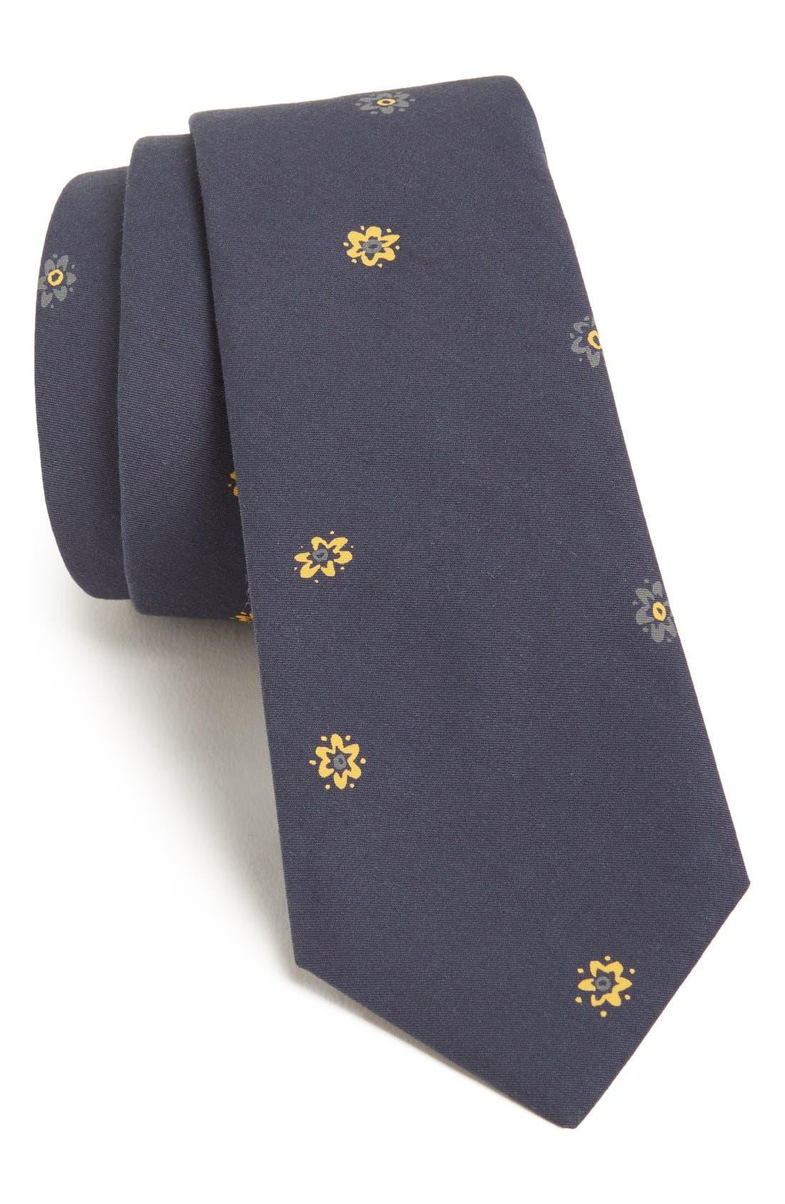 Main Image - rag & bone Floral Tie