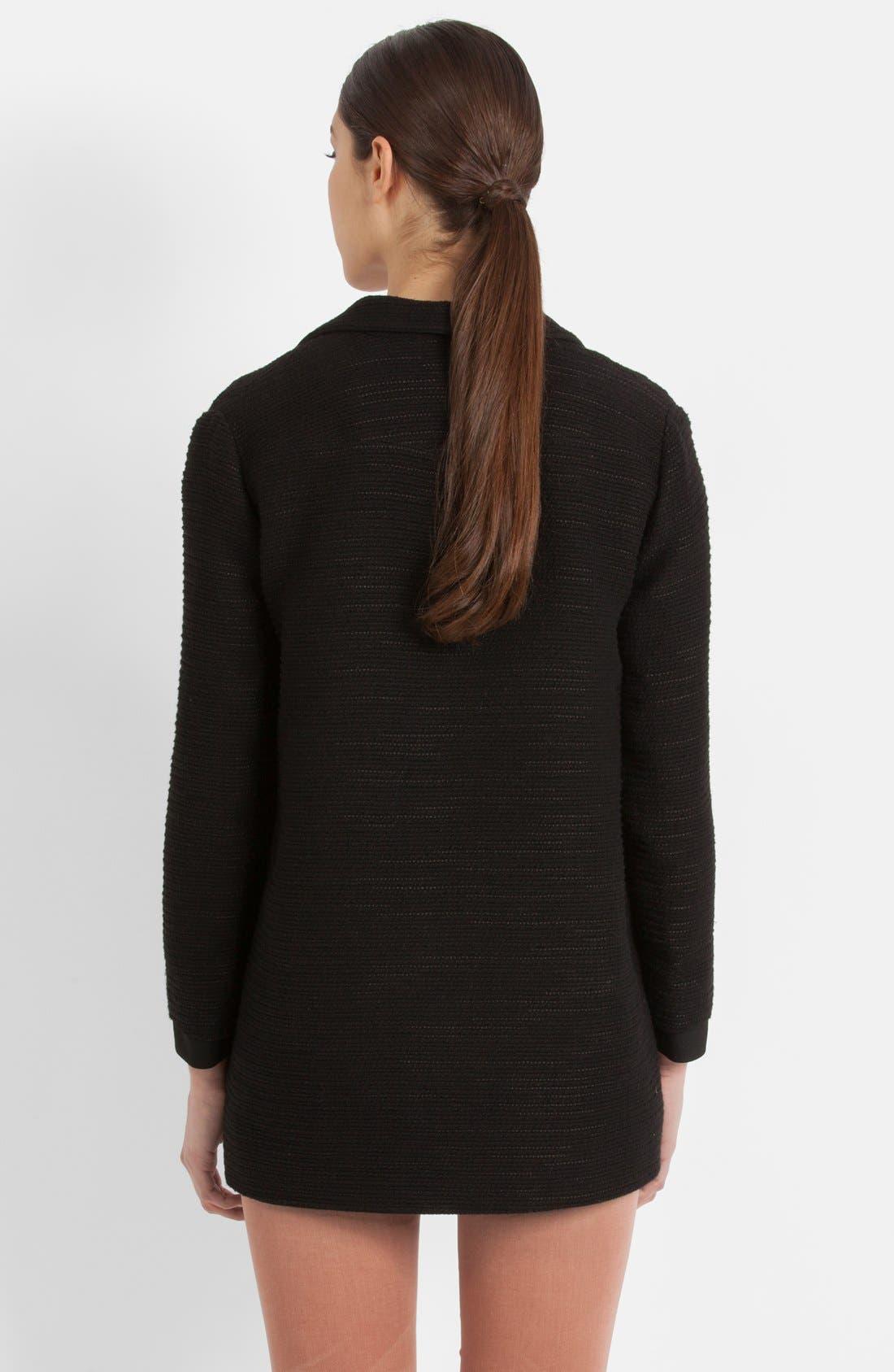Alternate Image 2  - maje 'Ecoutille' Woven Jacket