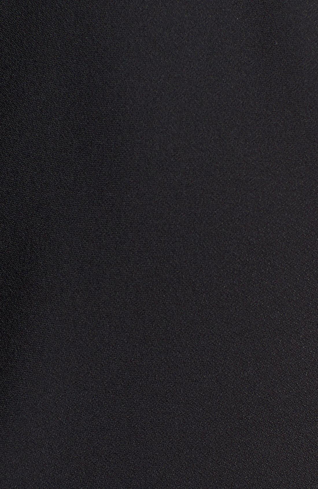 Alternate Image 3  - Vince Camuto Organza Trim Sheath Dress