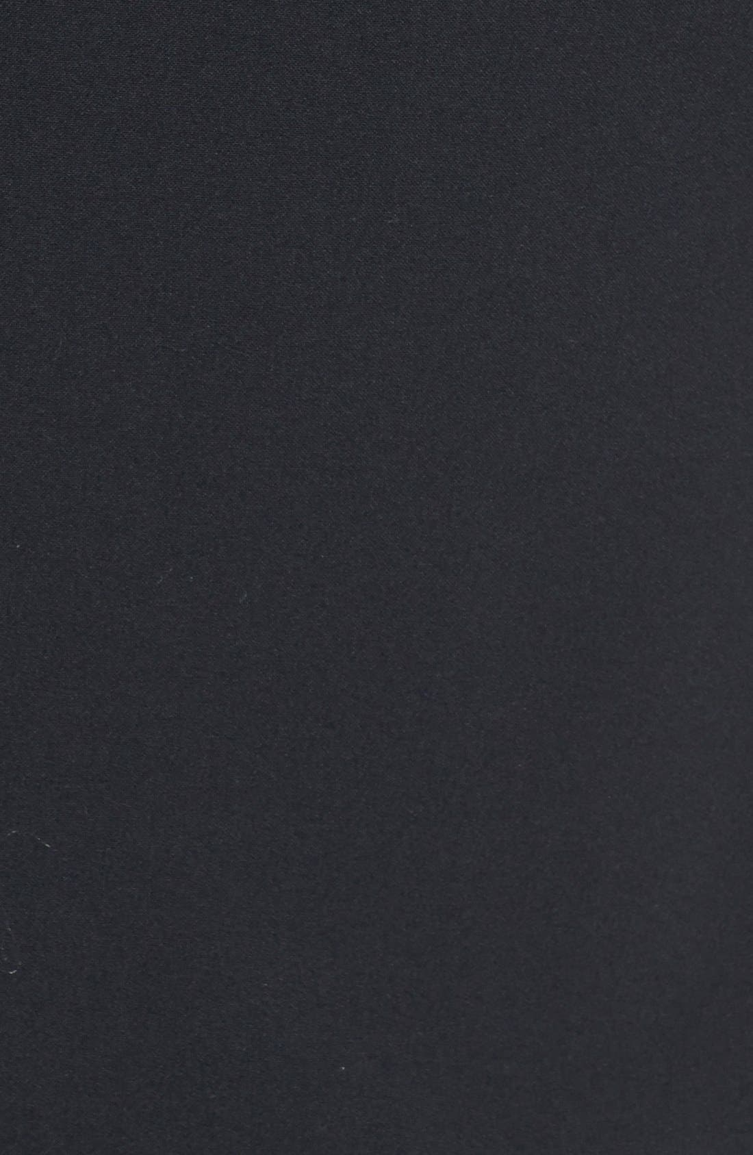 Alternate Image 3  - DKNYC Faux Leather Trim Blazer (Plus Size)