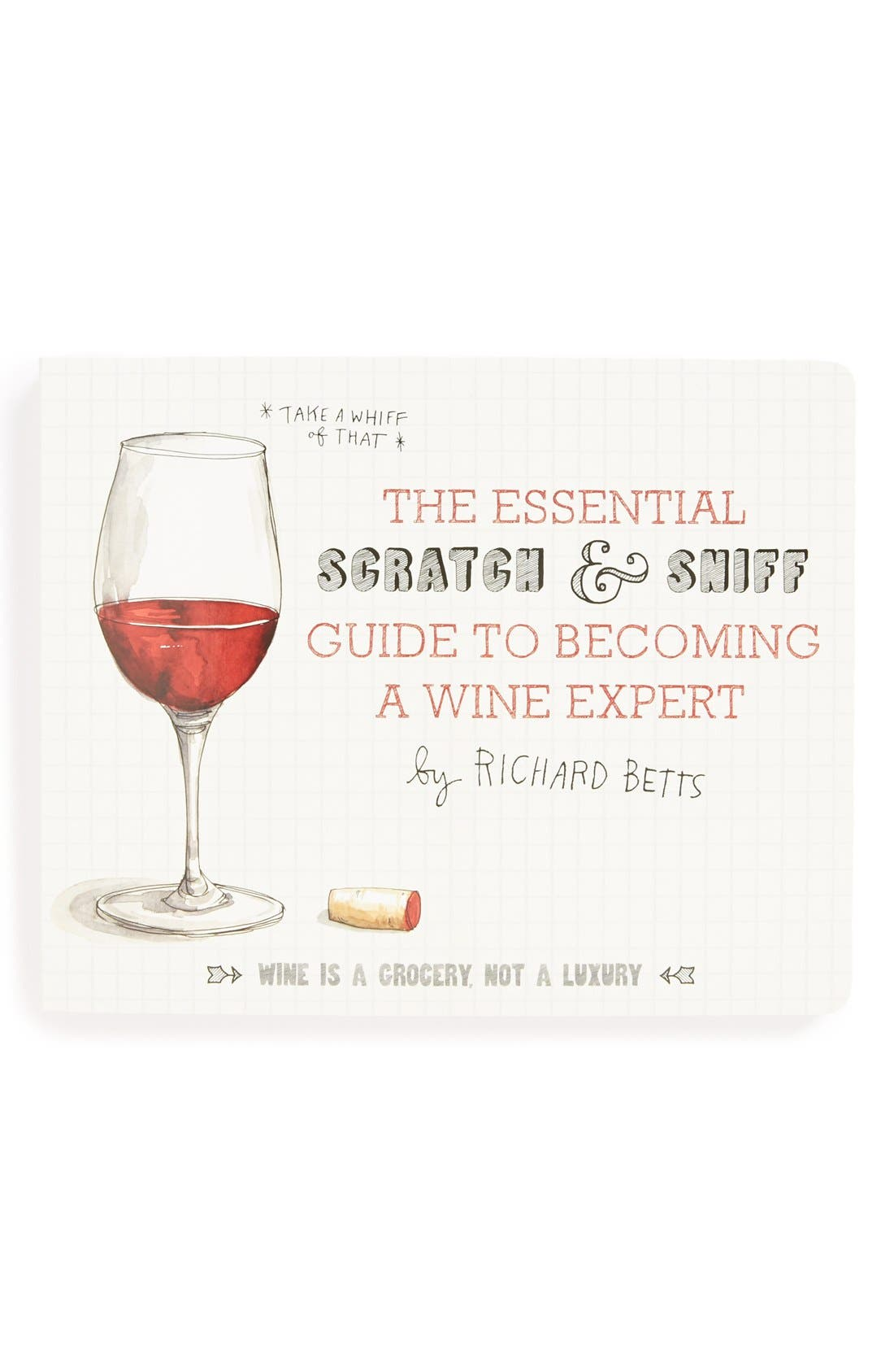 Alternate Image 1 Selected - 'The Essential Scratch & Sniff Guide to Becoming a Wine Expert' Book