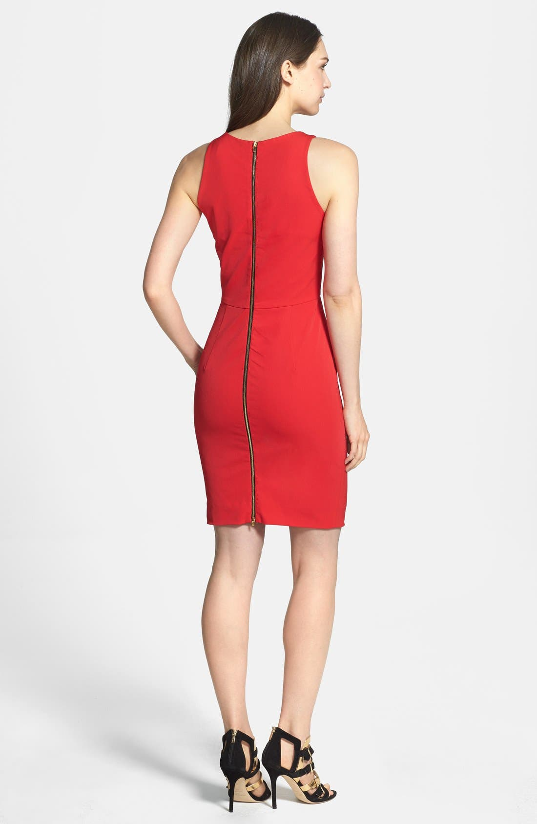 Alternate Image 2  - Milly Cutout Body-Con Dress