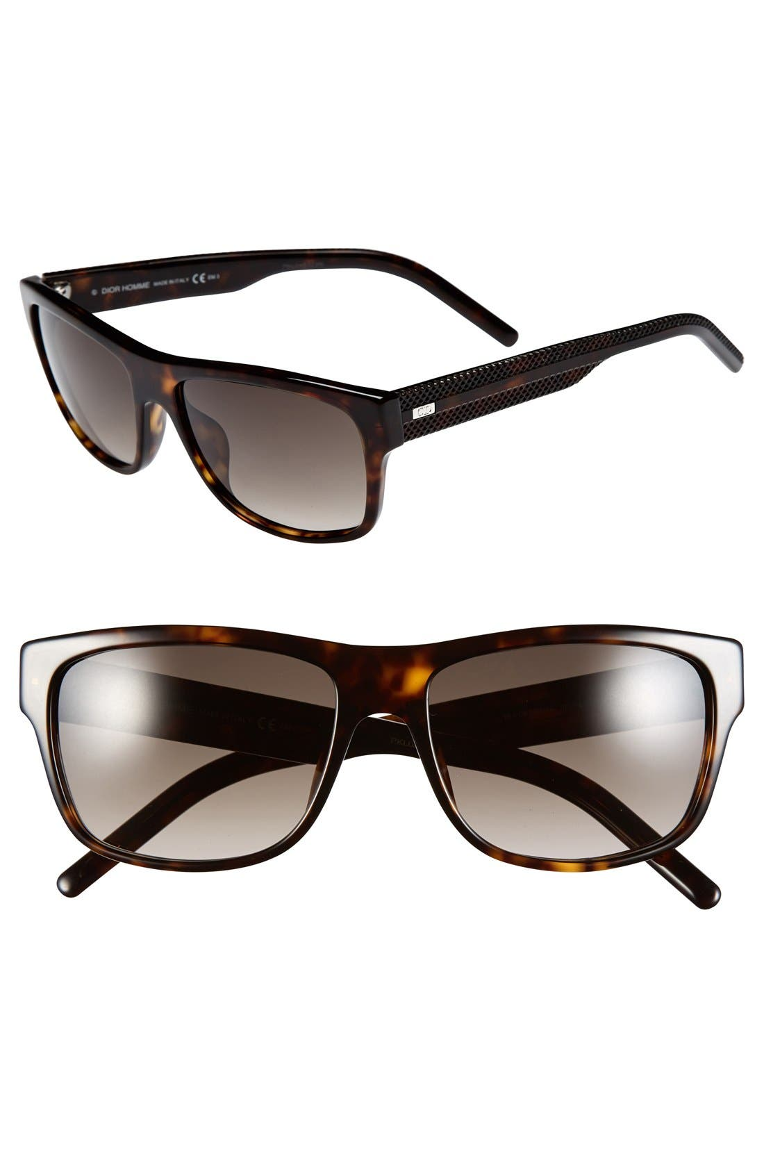 Alternate Image 1 Selected - Dior Homme '175S' 57mm Sunglasses