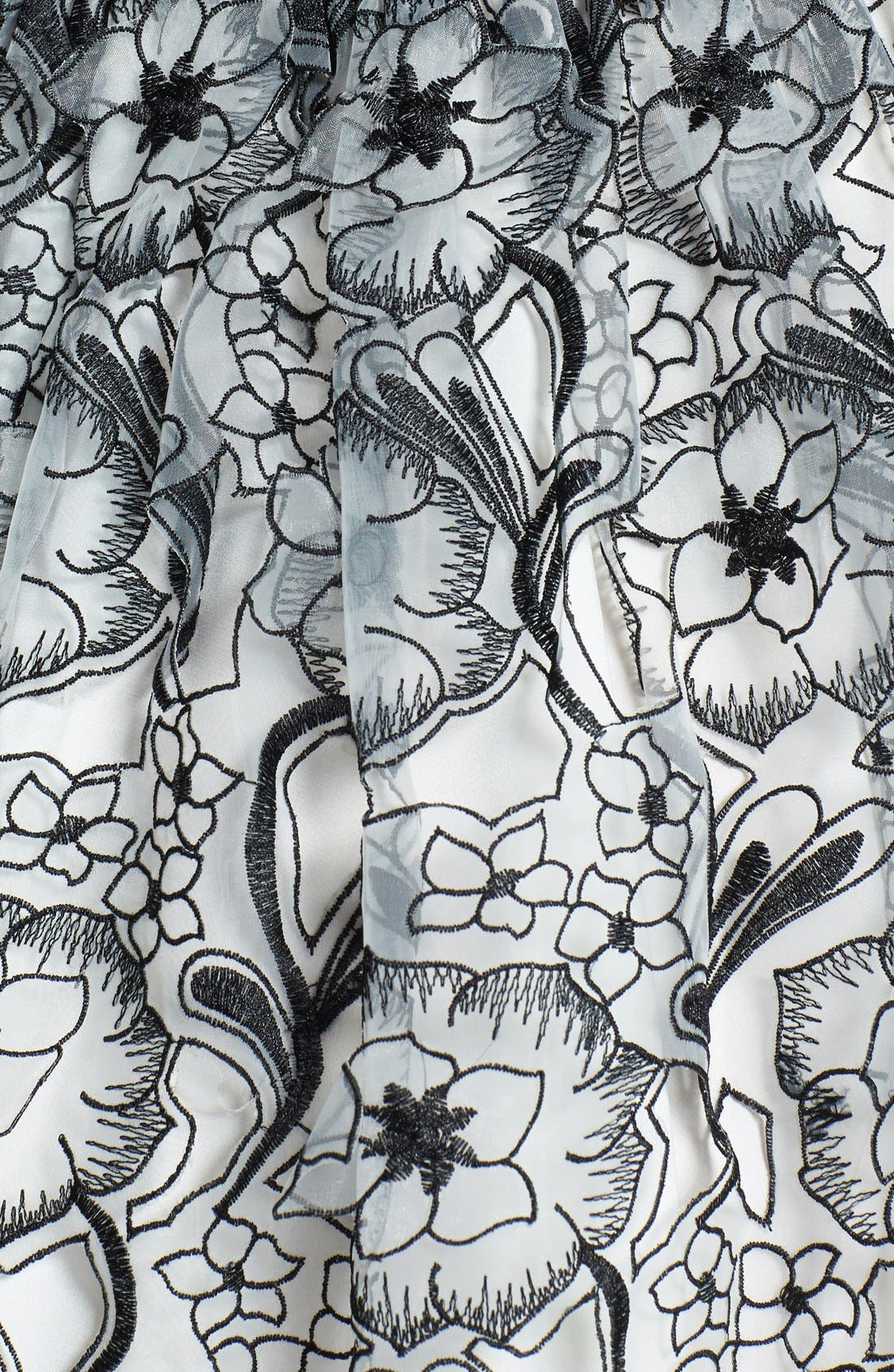 Alternate Image 4  - ERIN erin fetherston 'Peony 3D' Fit & Flare Dress
