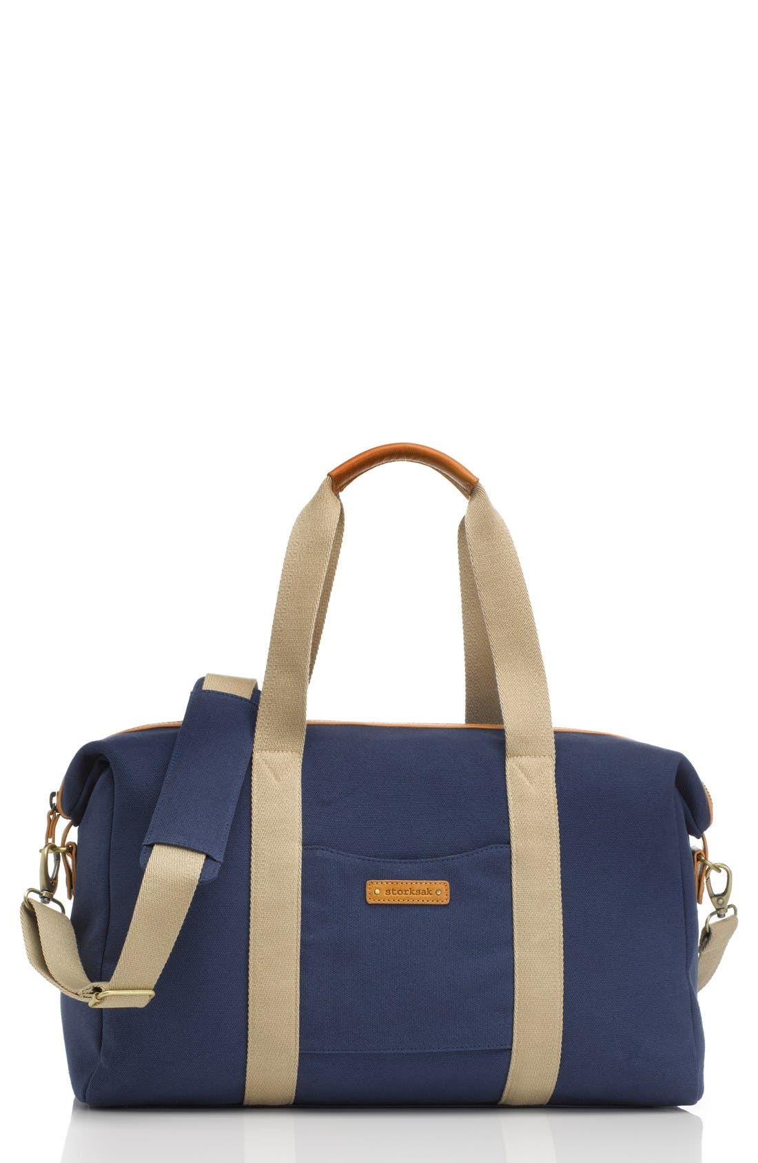 Alternate Image 1 Selected - Storksak 'Bailey' Weekend Tote