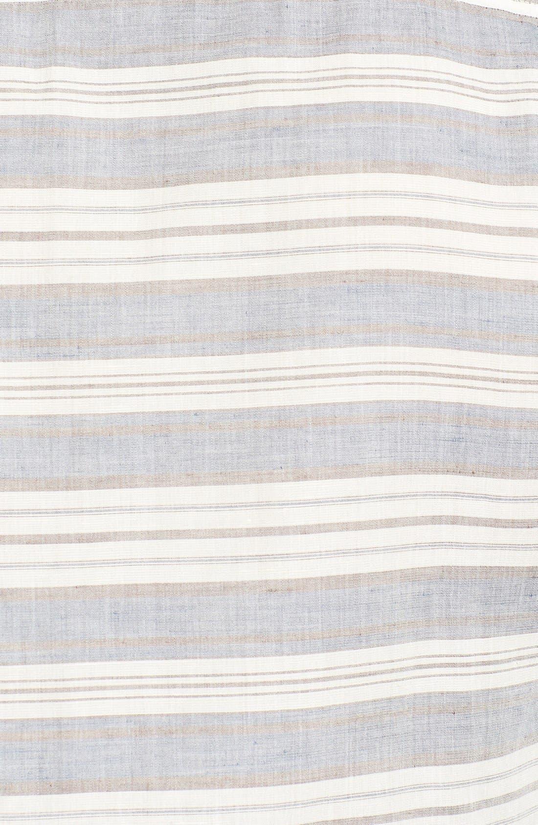 Alternate Image 3  - 7 For All Mankind® Trim Fit Stripe Sport Shirt