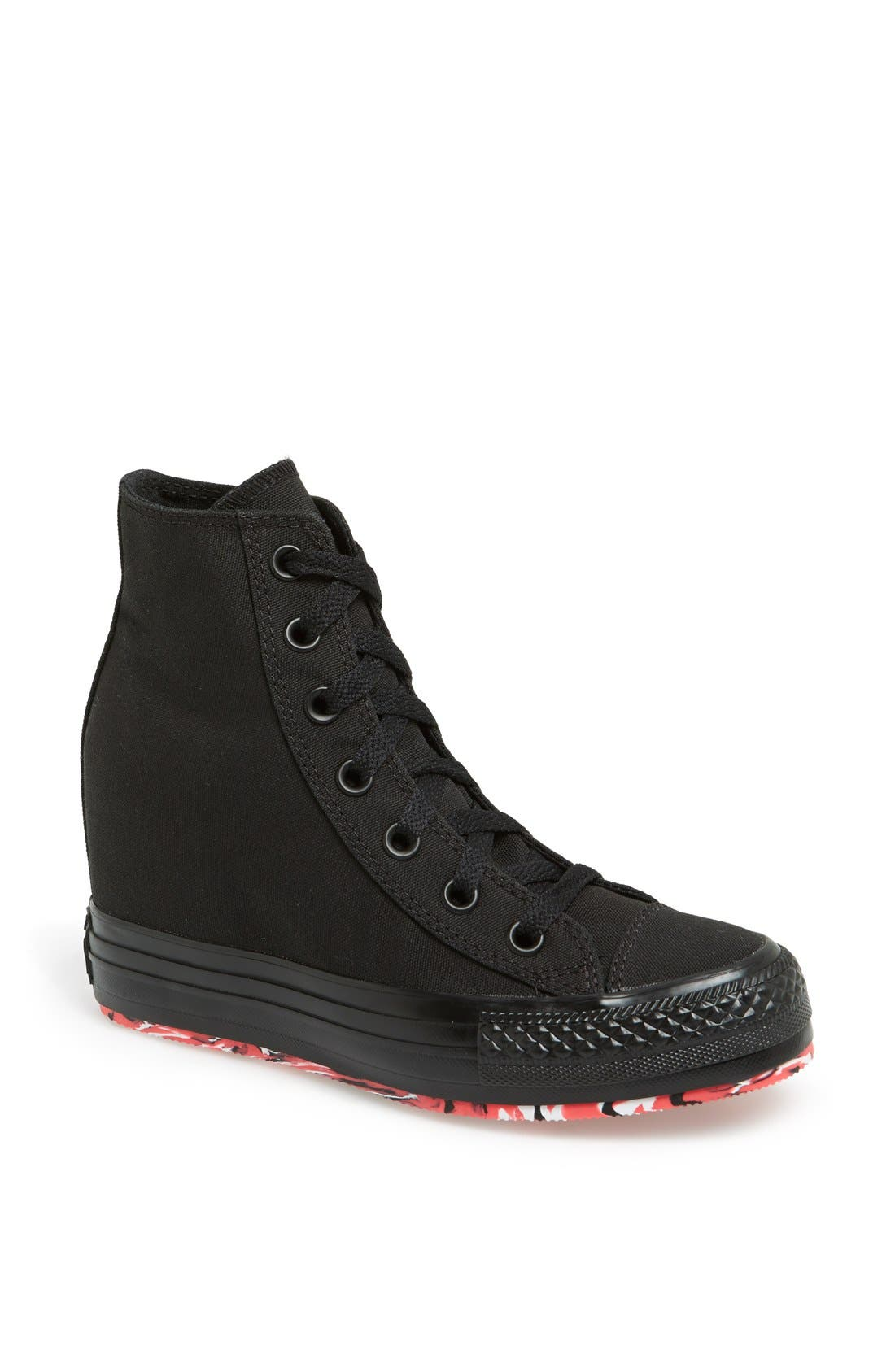 Alternate Image 1 Selected - Converse Chuck Taylor® All Star® High Top Wedge Sneaker (Women)