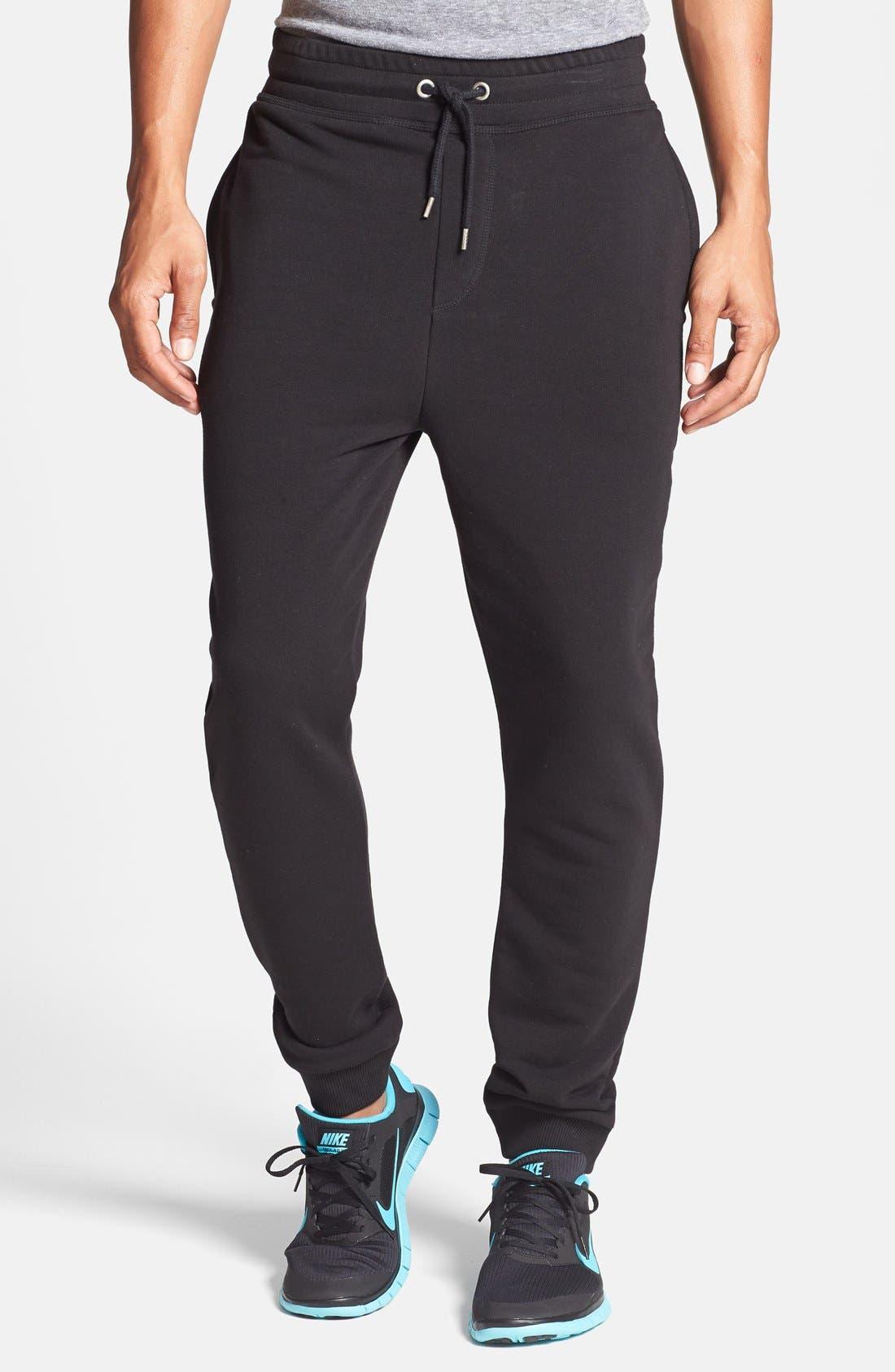 Alternate Image 1 Selected - Topman Jogger Sweatpants